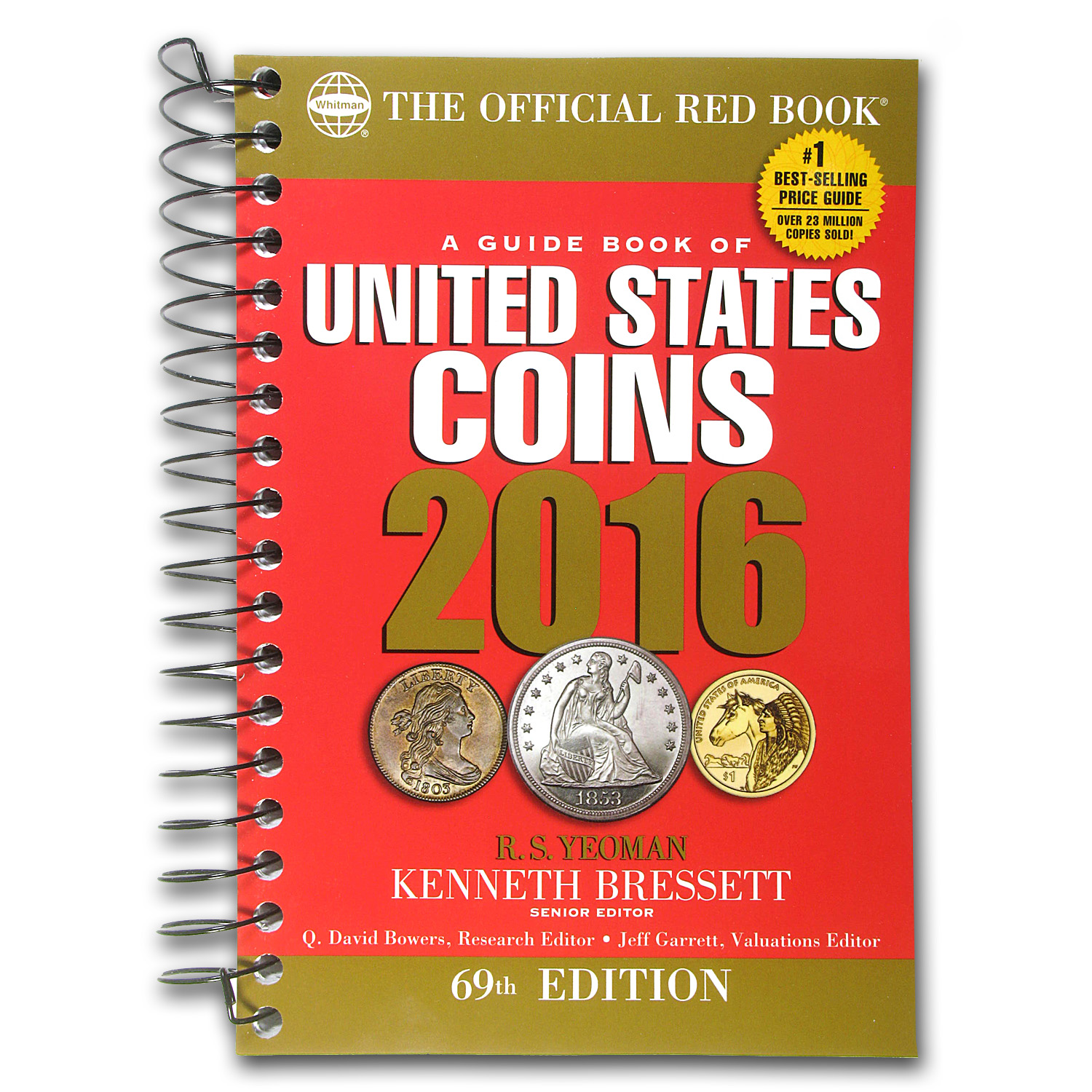 2016 Red Book of United States Coins - Bressett & Yeoman (Spiral)