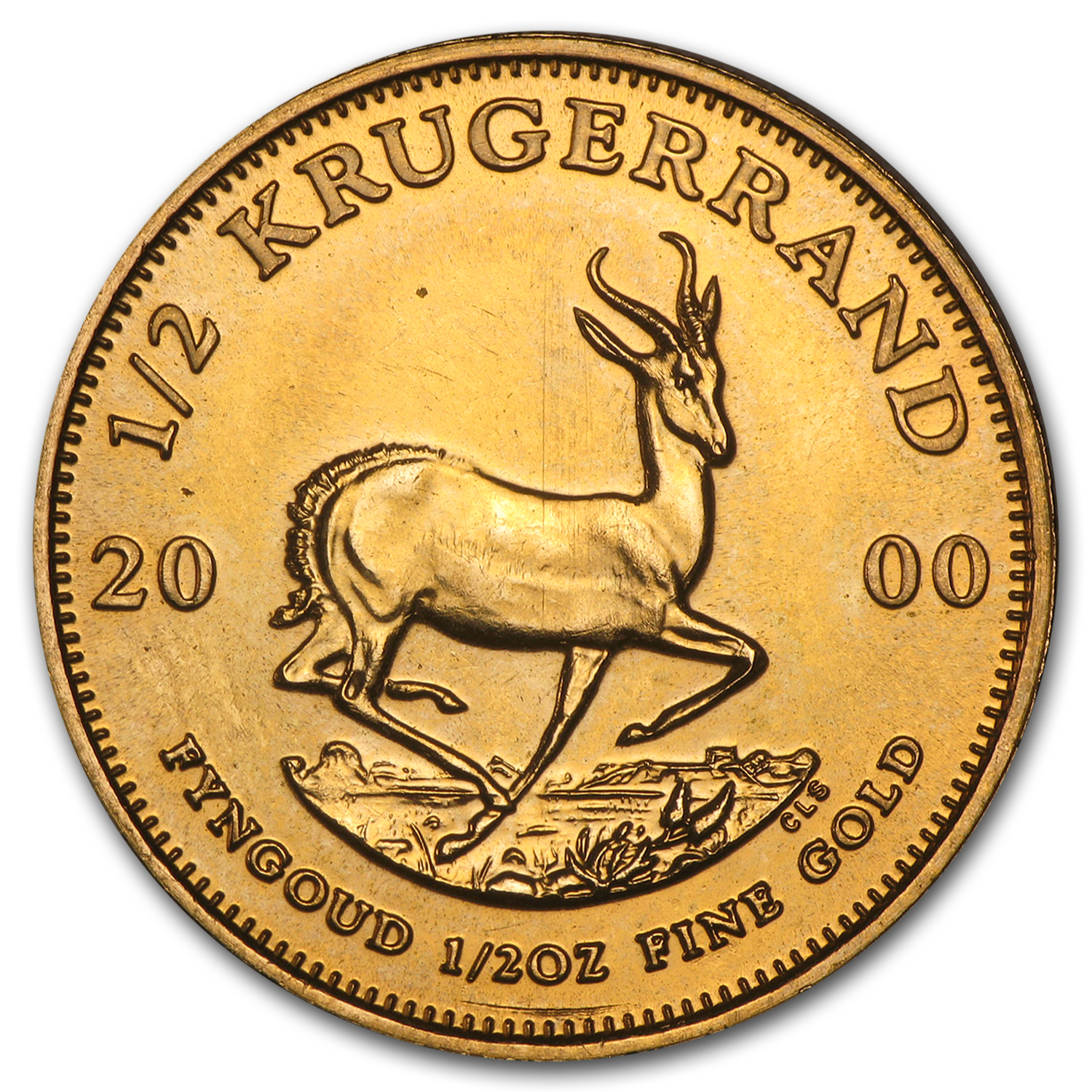 2000 South Africa 1/2 oz Gold Krugerrand