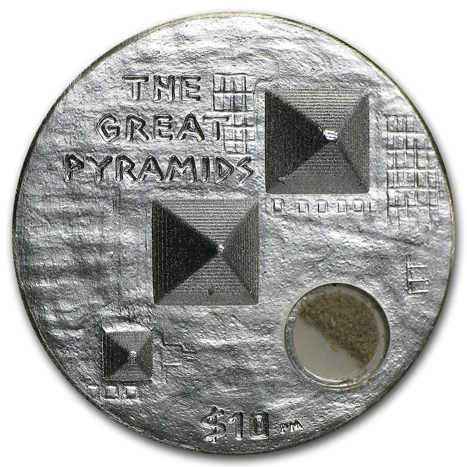 2013 British Virgin Islands 1 oz Silver Great Pyramids Proof (HR)