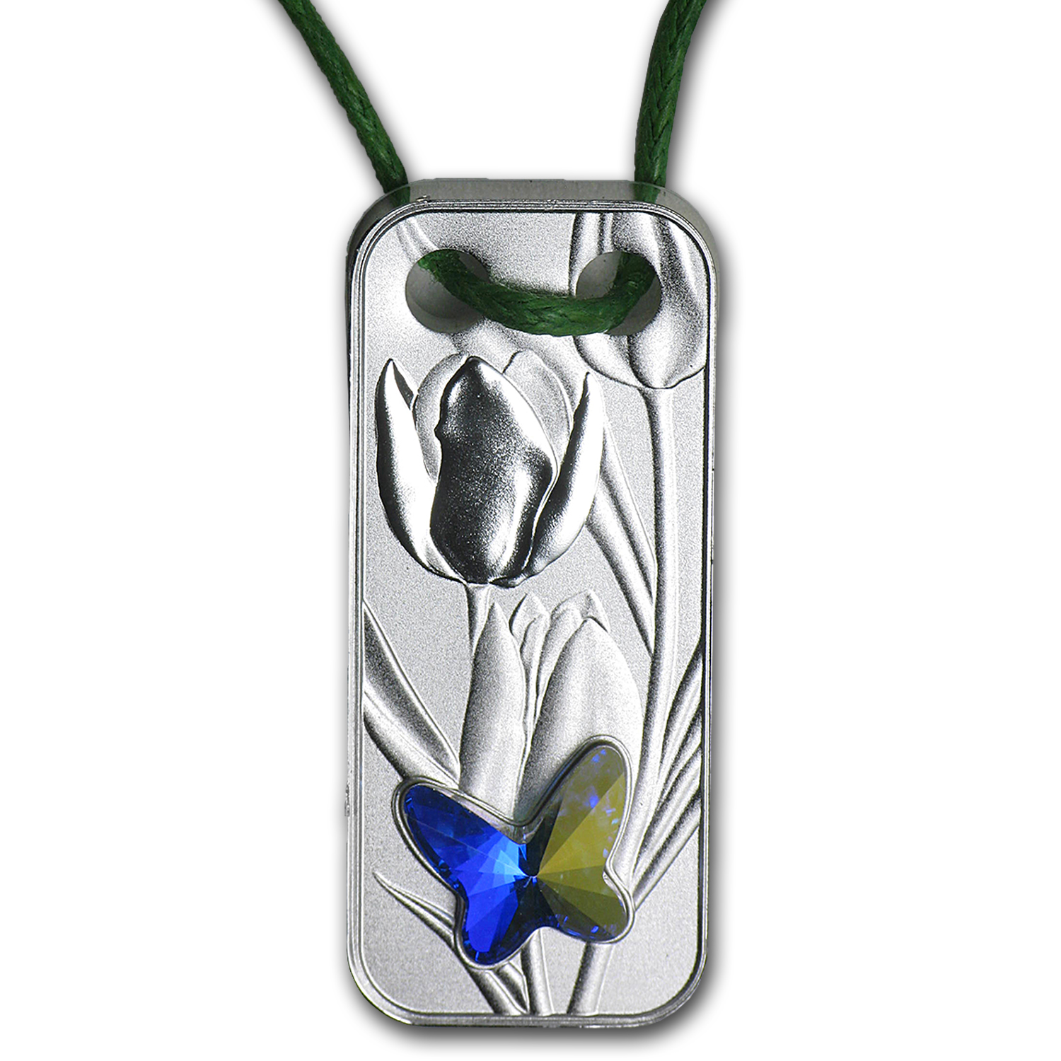 2015 Niue Silver Butterfly Pendant