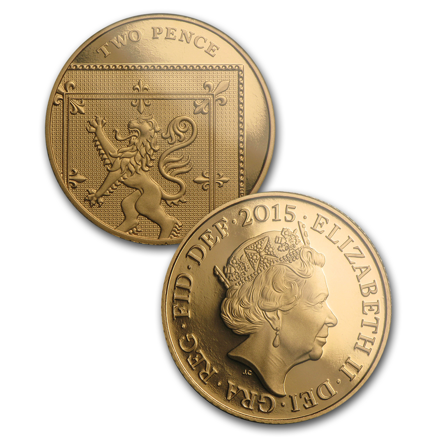 2015 GB 8-Coin Gold First Edition Circulating Pf Set (5th Effigy)
