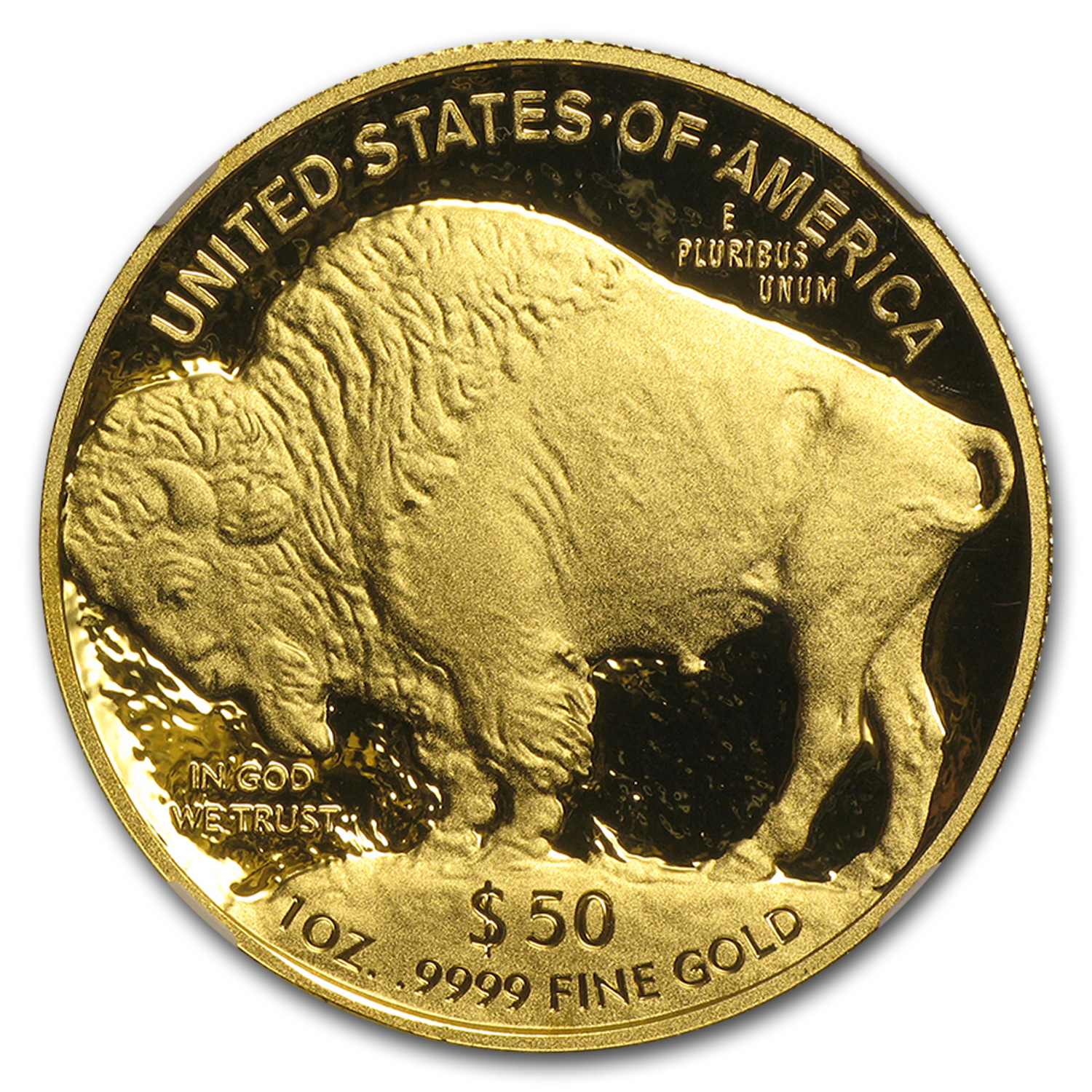 2014-W 1 oz Proof Gold Buffalo PF-70 NGC