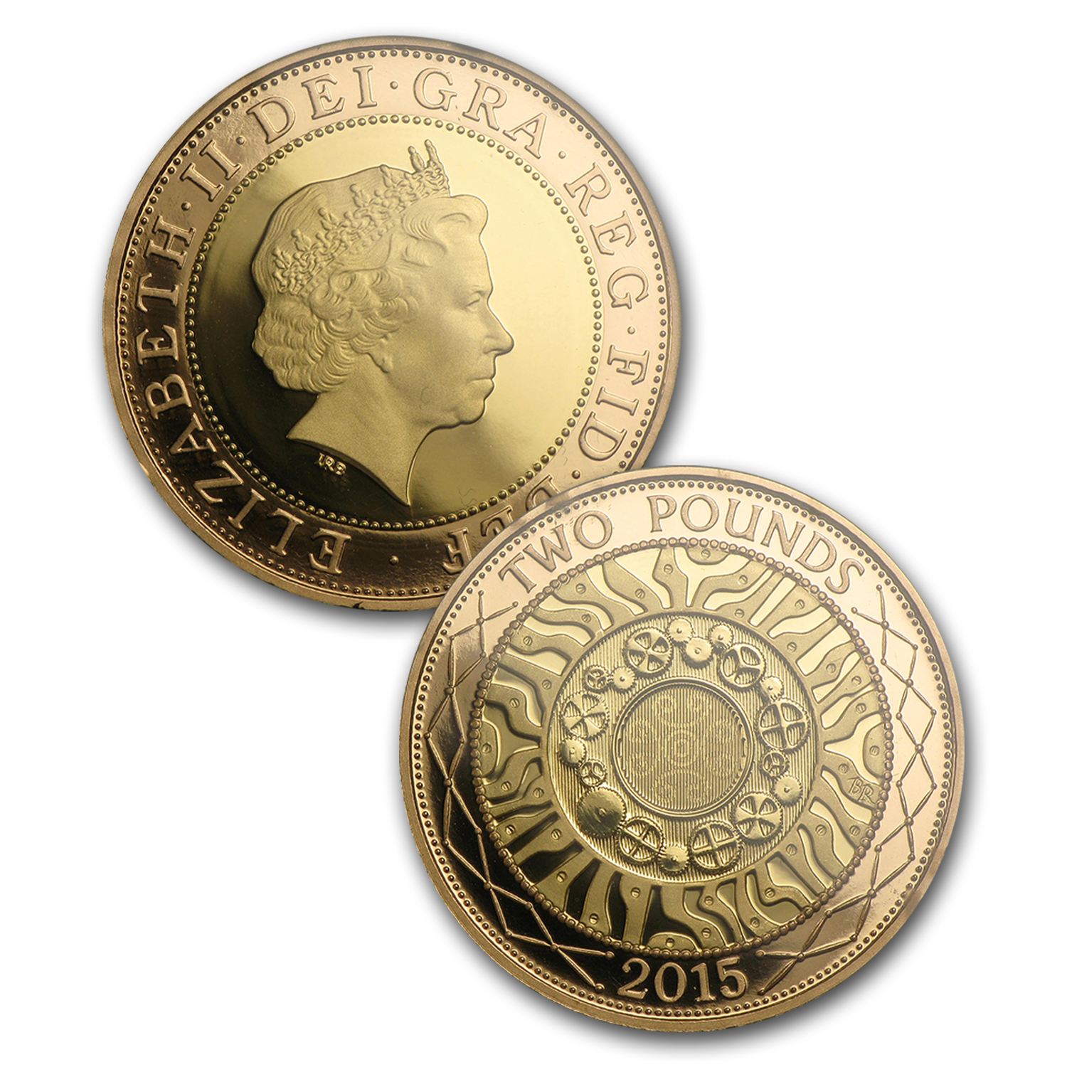 2015 GB 16-Coin Proof Gold Fourth & Fifth Portrait Collection