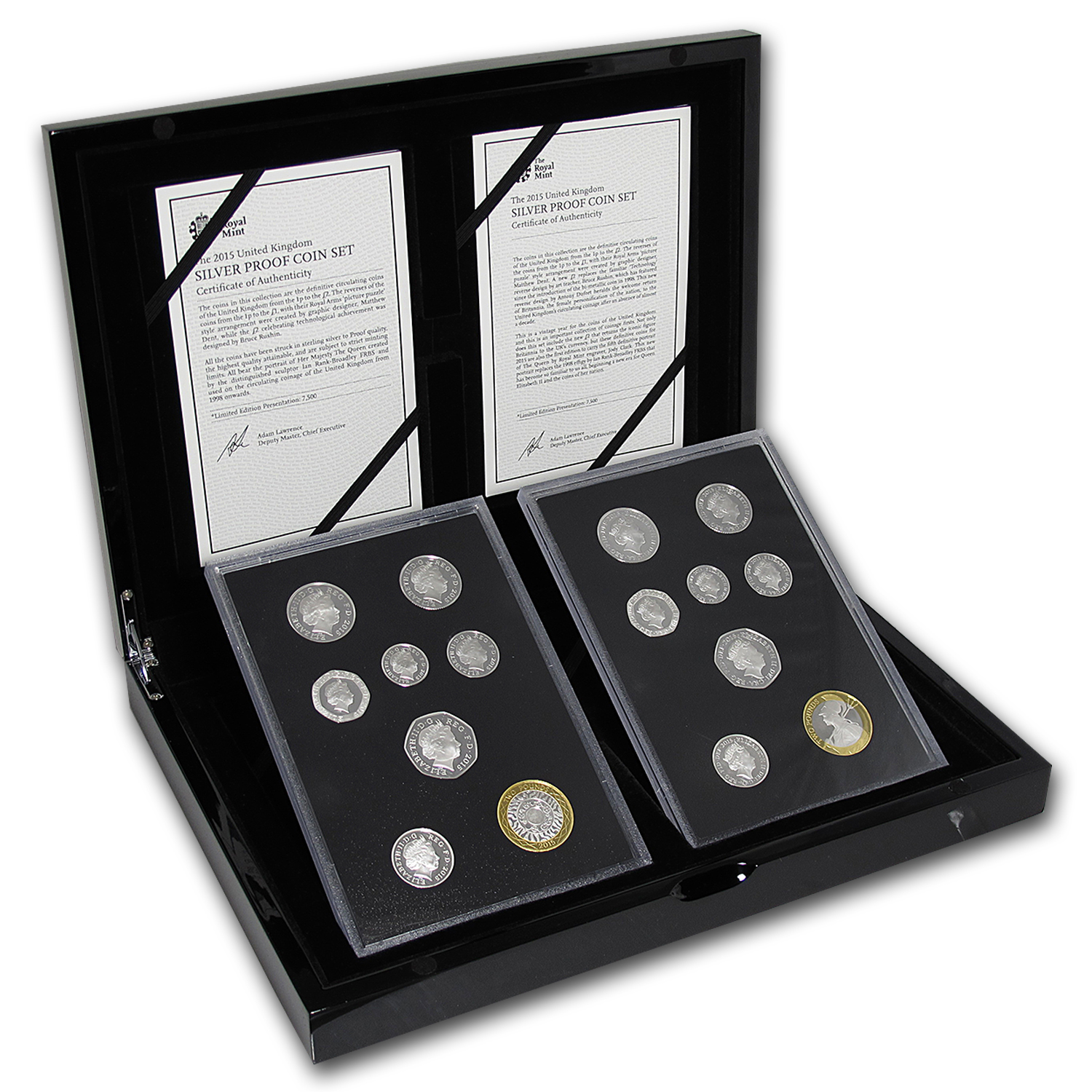 2015 GB 16-Coin Silver Fourth & Fifth Portrait Collection