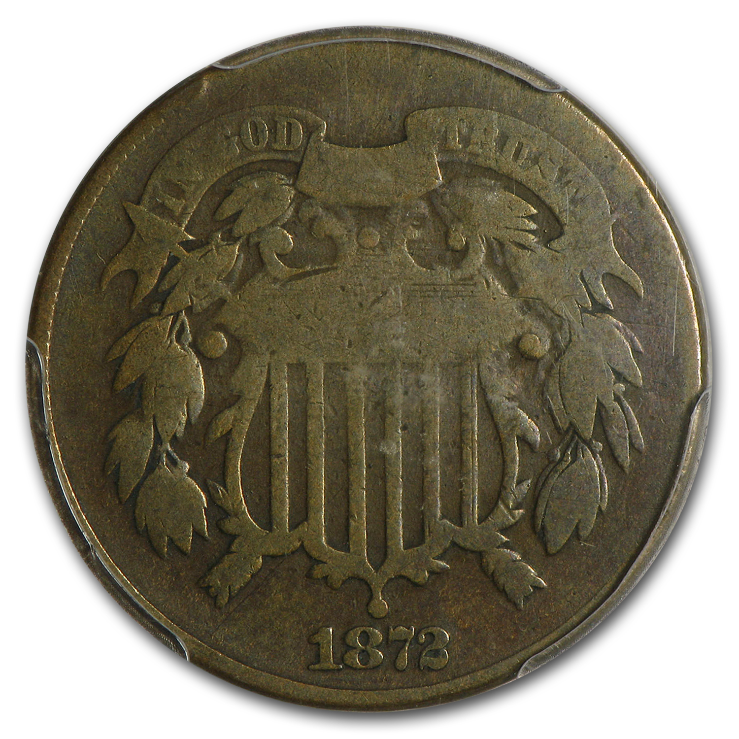 1872 Two Cent Piece Good-6 PCGS