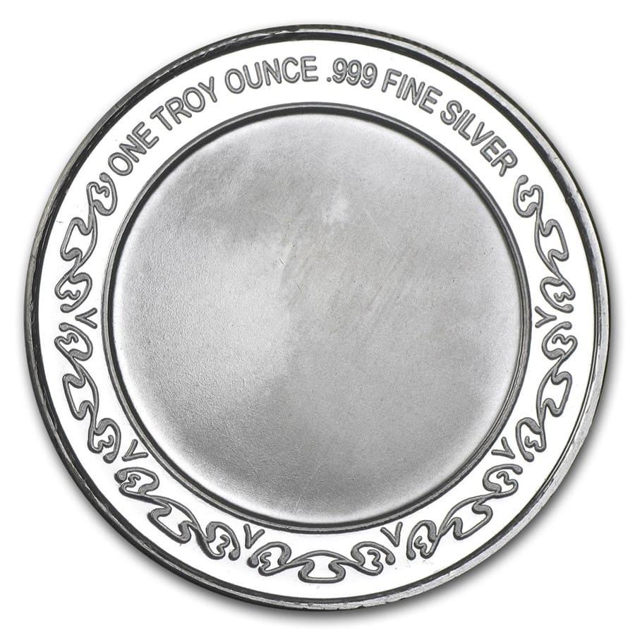 1 Oz Silver Round Lord S Prayer Religious Silver Bars