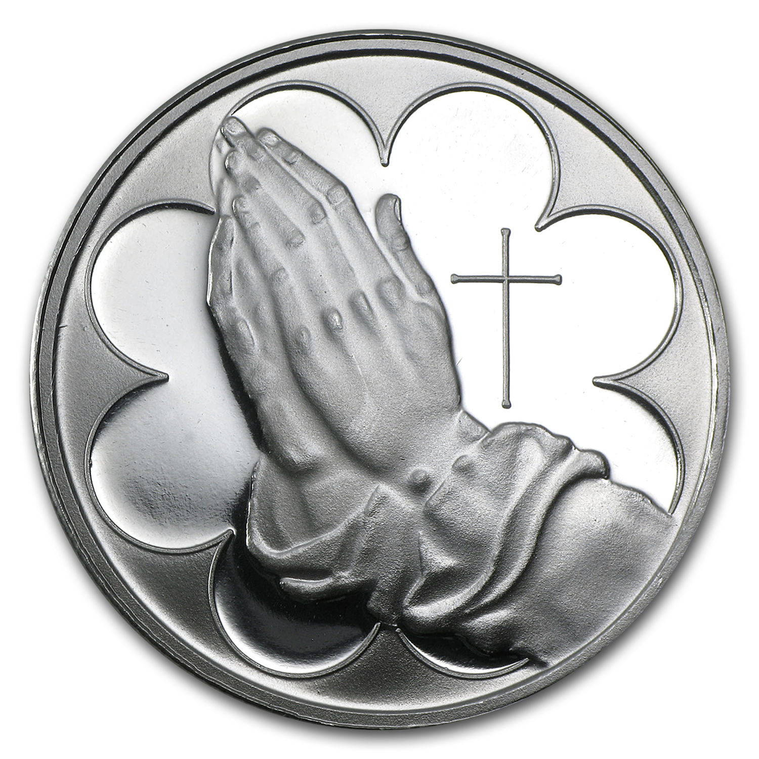 1 oz Silver Round - Praying Hands