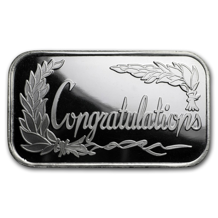 1 Oz Silver Round Congratulations All Other Themed