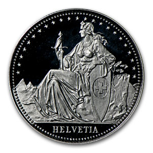 Switzerland 1/4 oz Proof Platinum Matterhorn
