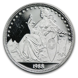 1/2 oz Swiss Platinum Matterhorn Proof