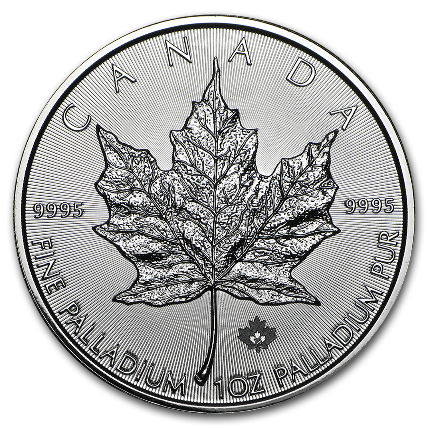2015 Canada 1 oz Palladium Maple Leaf BU