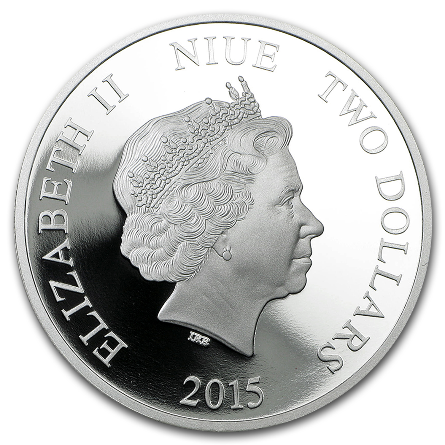 2015 Niue 1 oz Silver $2 Disney Princess Ariel