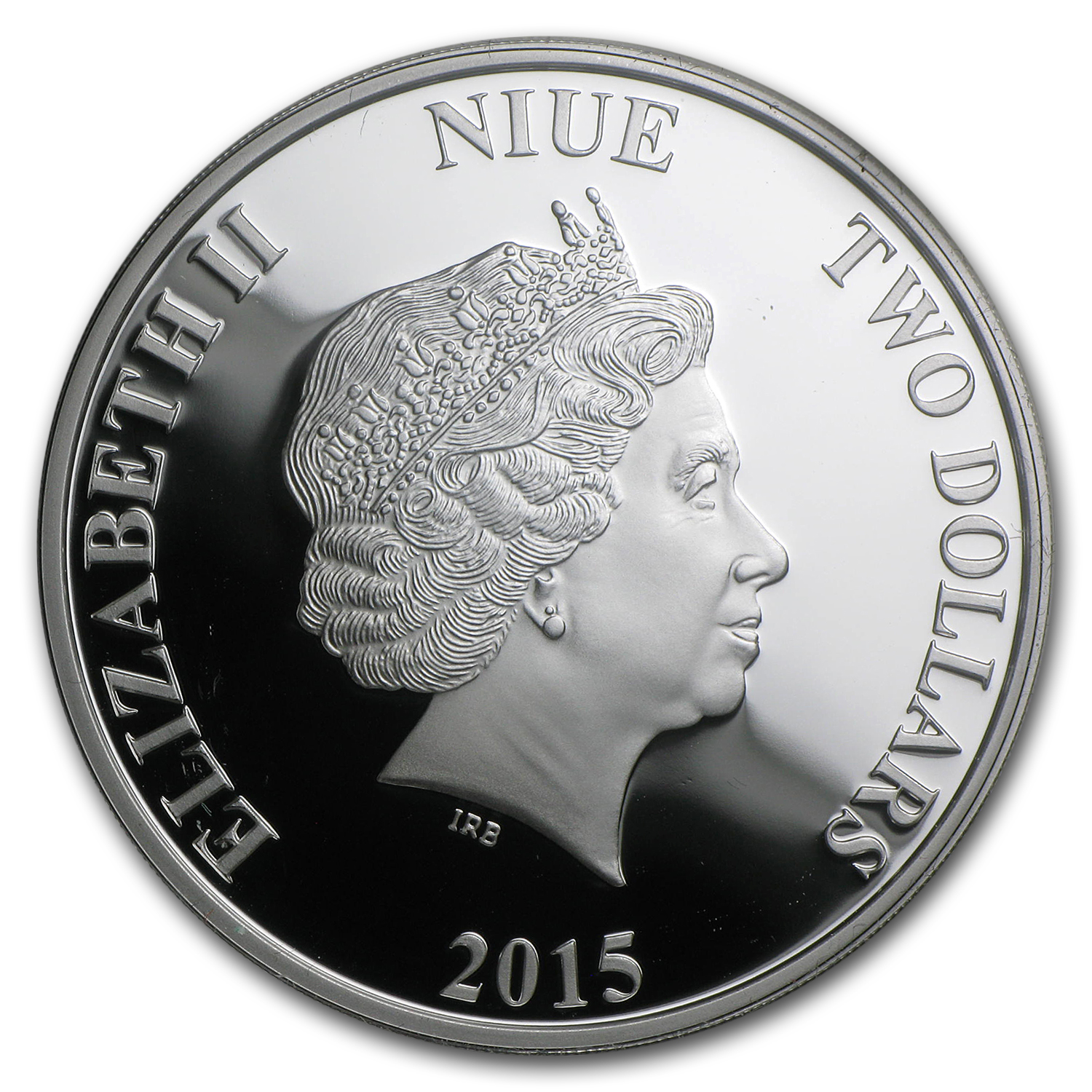 2015 Niue 1 oz Silver Mountain Gorilla