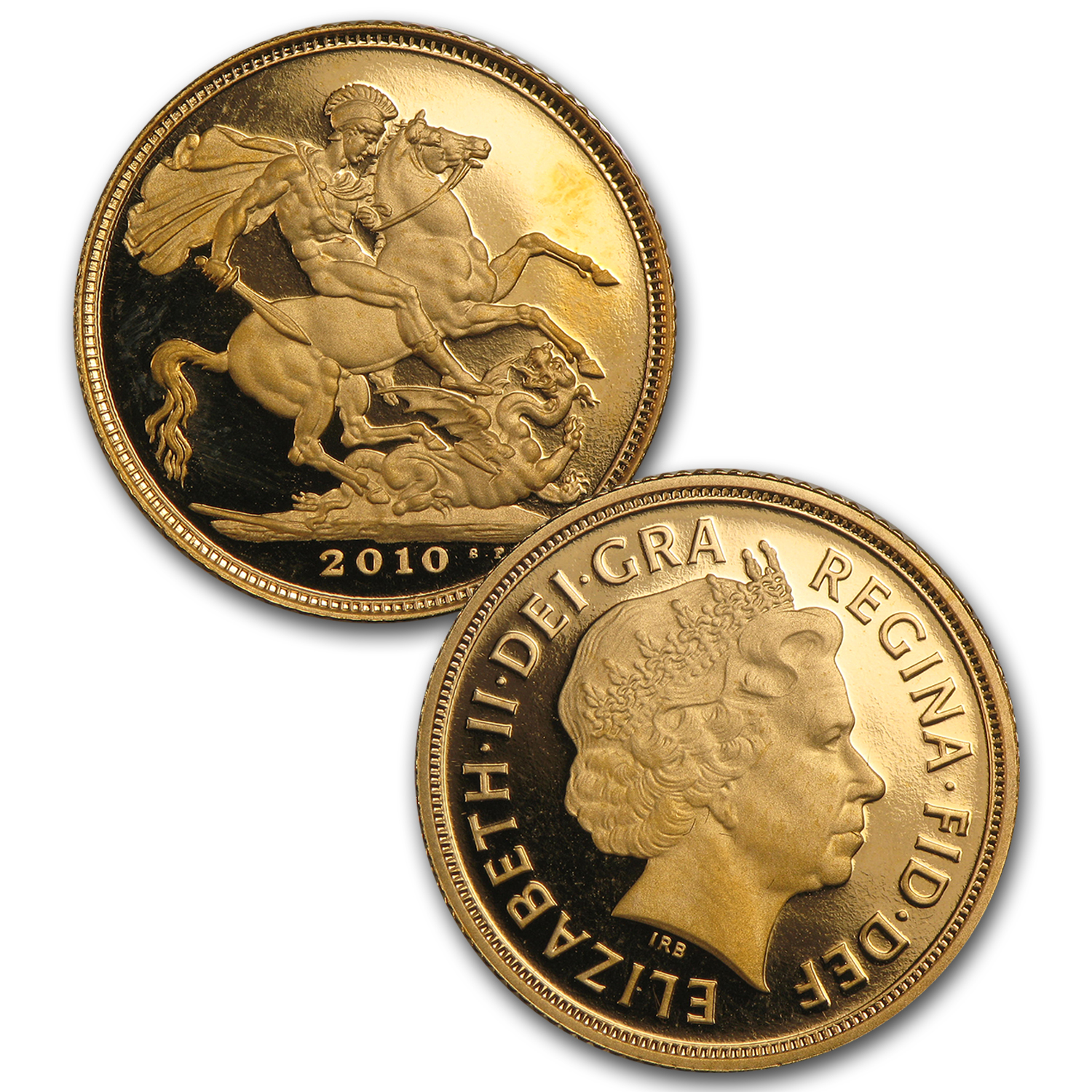 2010 Great Britain 3-Coin Gold Sovereign Proof Set