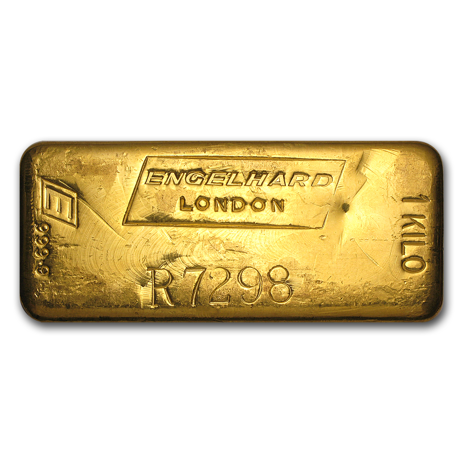 1 kilo Gold Bar - Engelhard-London