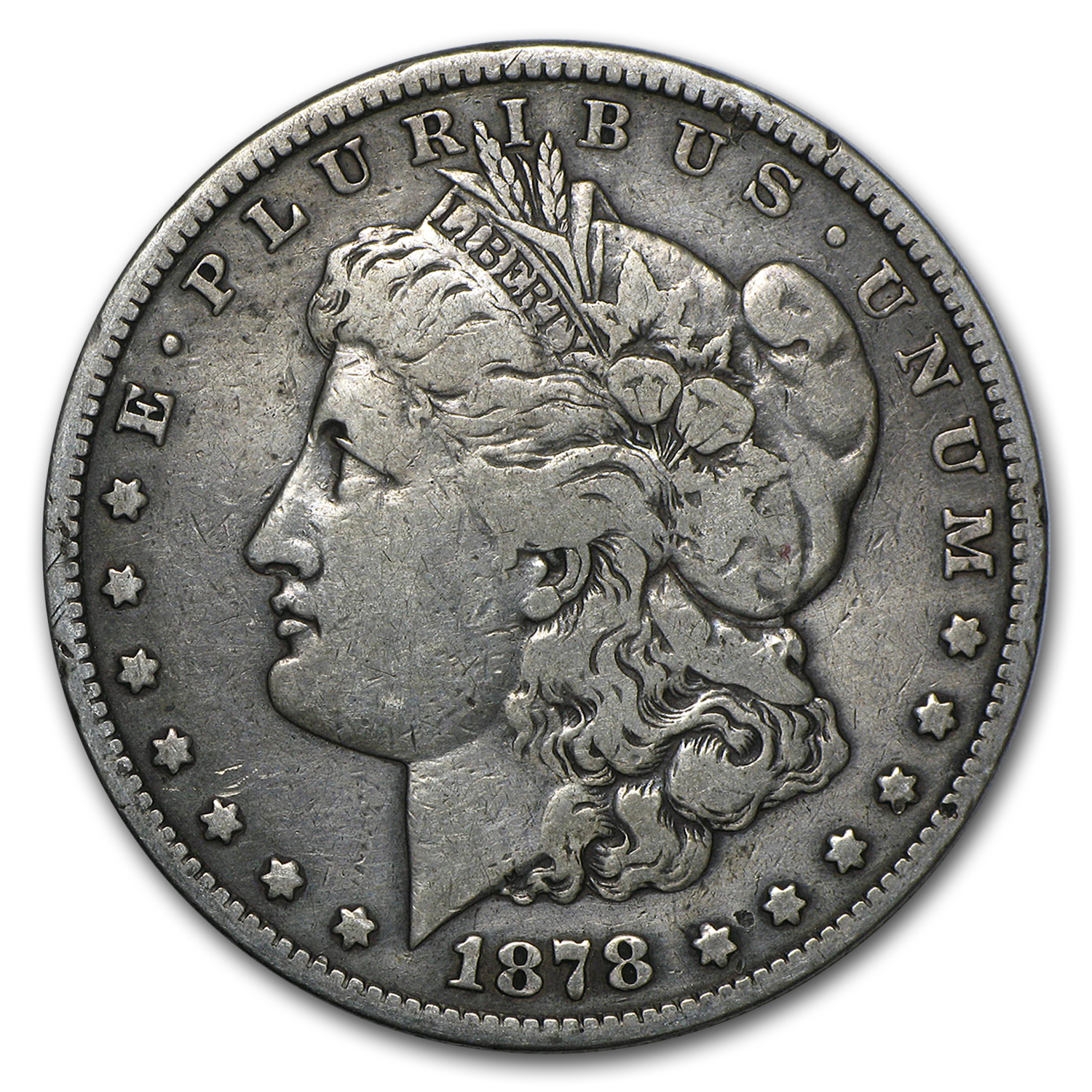 1878-S Morgan Dollar Long Nock Random (Top-100)