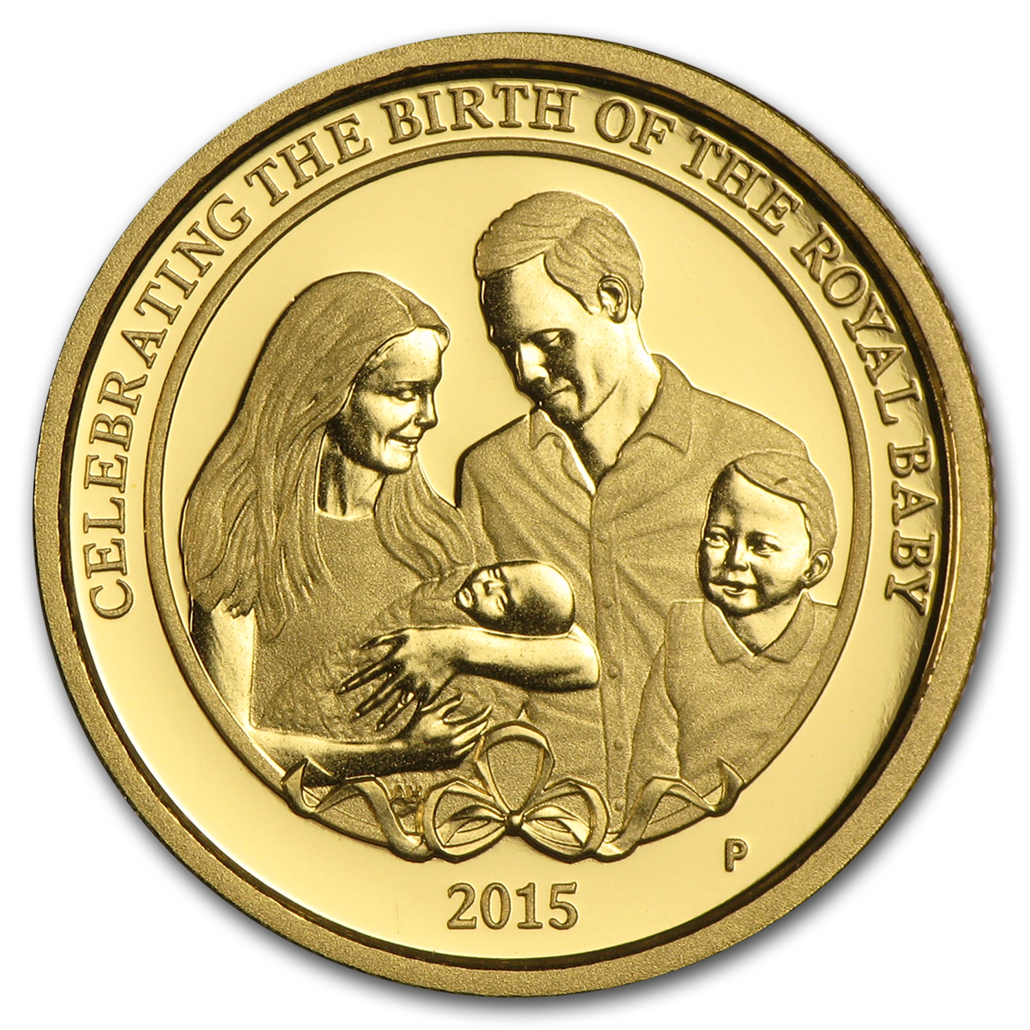2015 Australia 1/4 oz Gold Princess Charlotte Proof