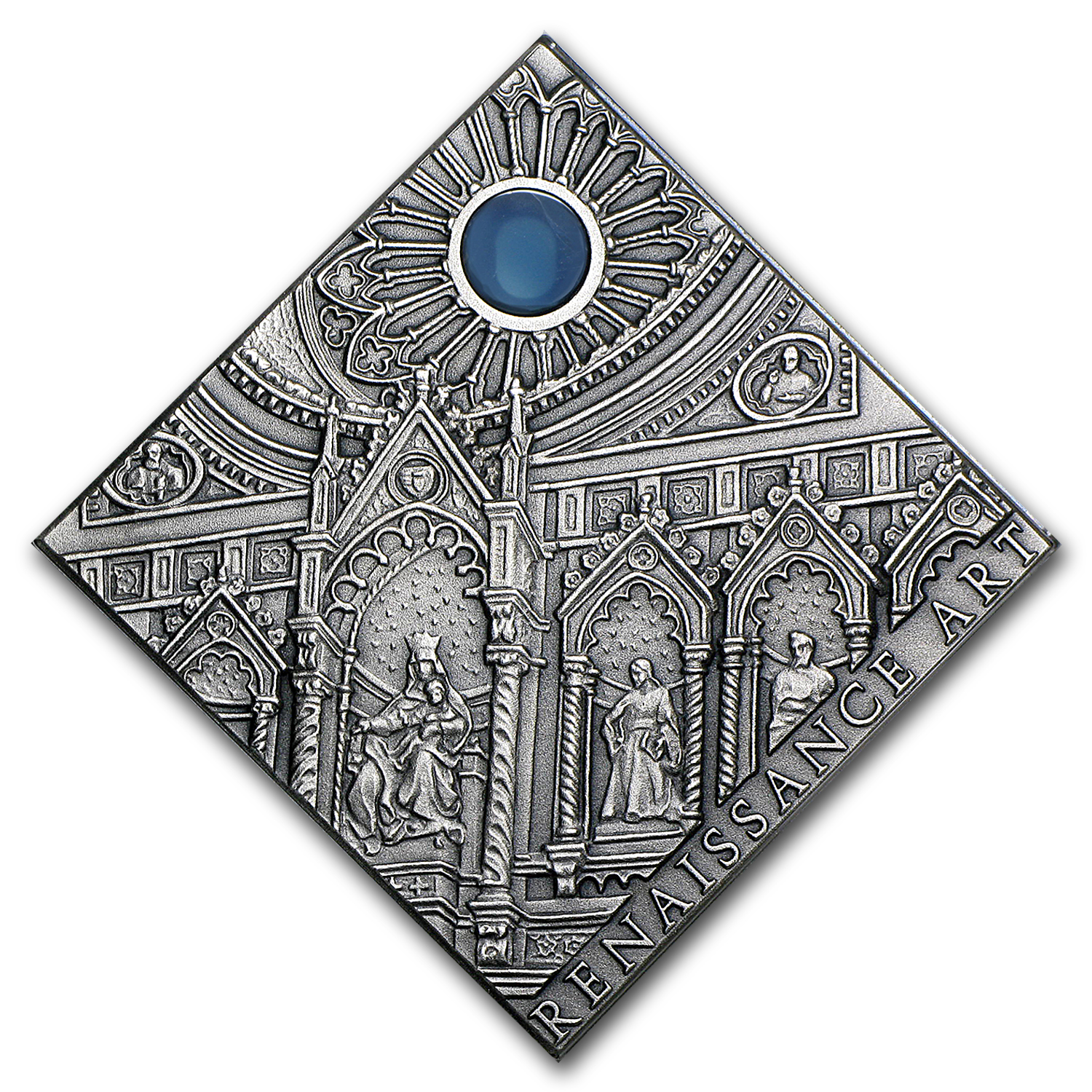 2014 Niue Antique Silver Art That Changed the World Renaissance