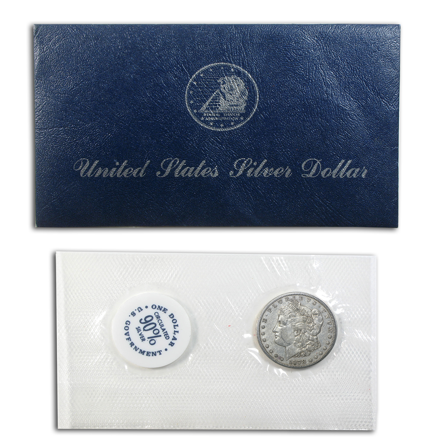 1878-CC Morgan Dollar XF-45 (GSA Soft Pack)