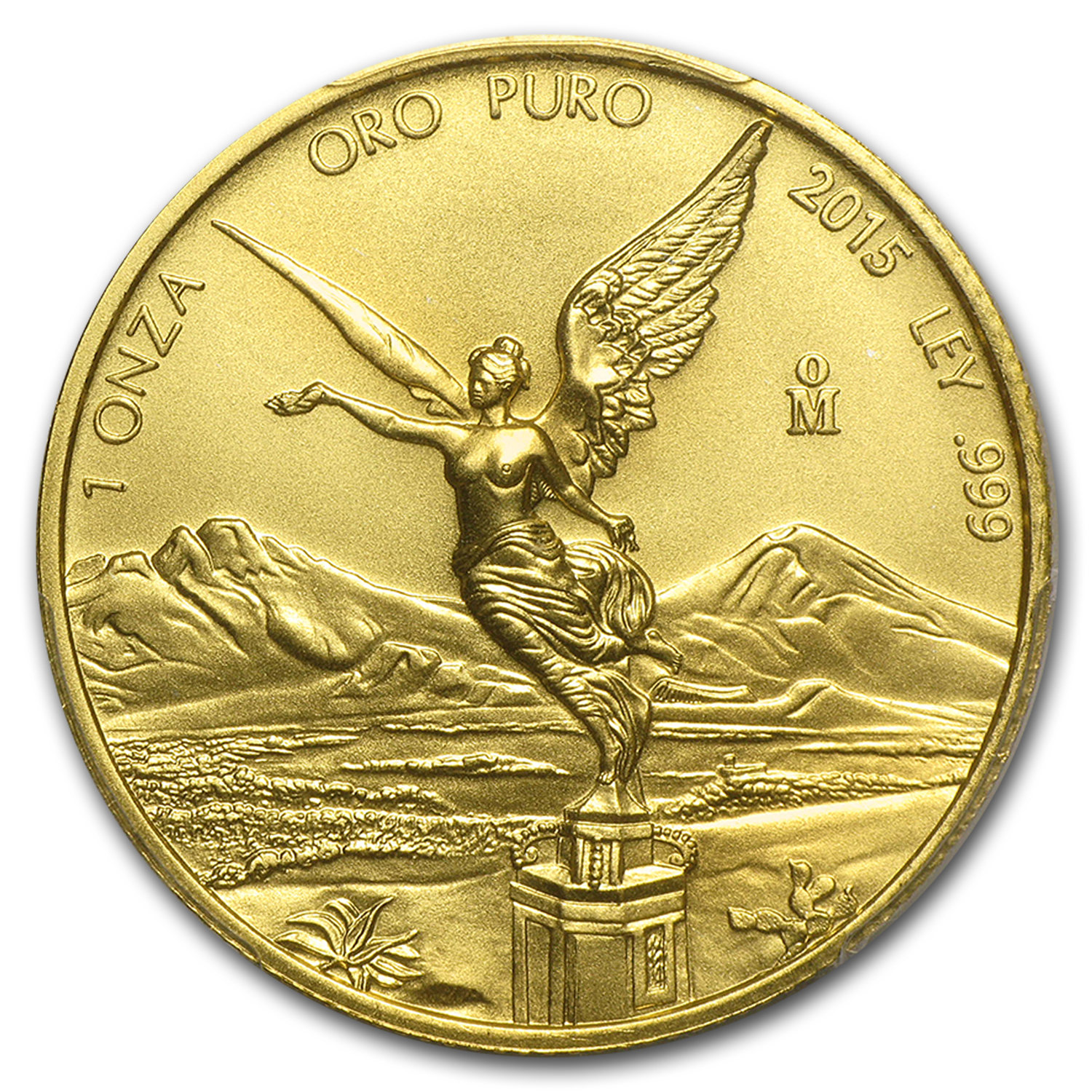 2015 Mexico 1 oz Gold Libertad MS-70 PCGS (First Strike)
