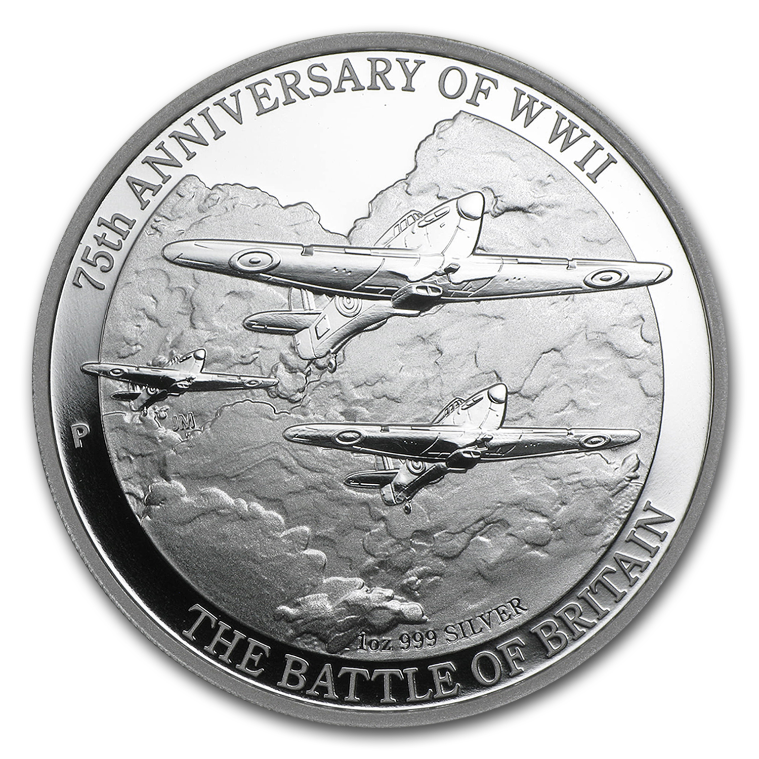 2015 AUS 1 oz Silver 75th Anniv of WWII Battle of Britain Proof