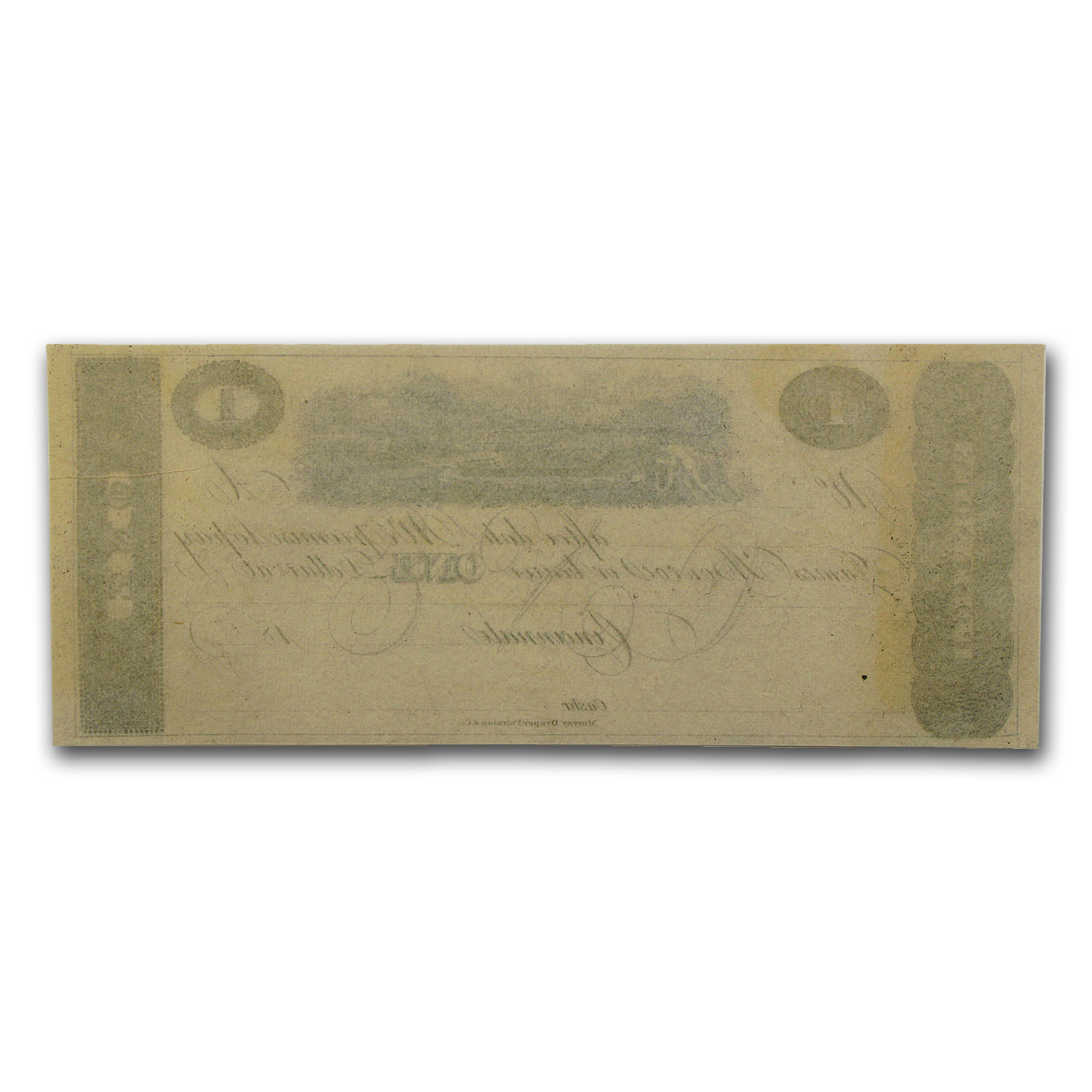 18__ Post Note from Cincinnati, OH $1.00 AU