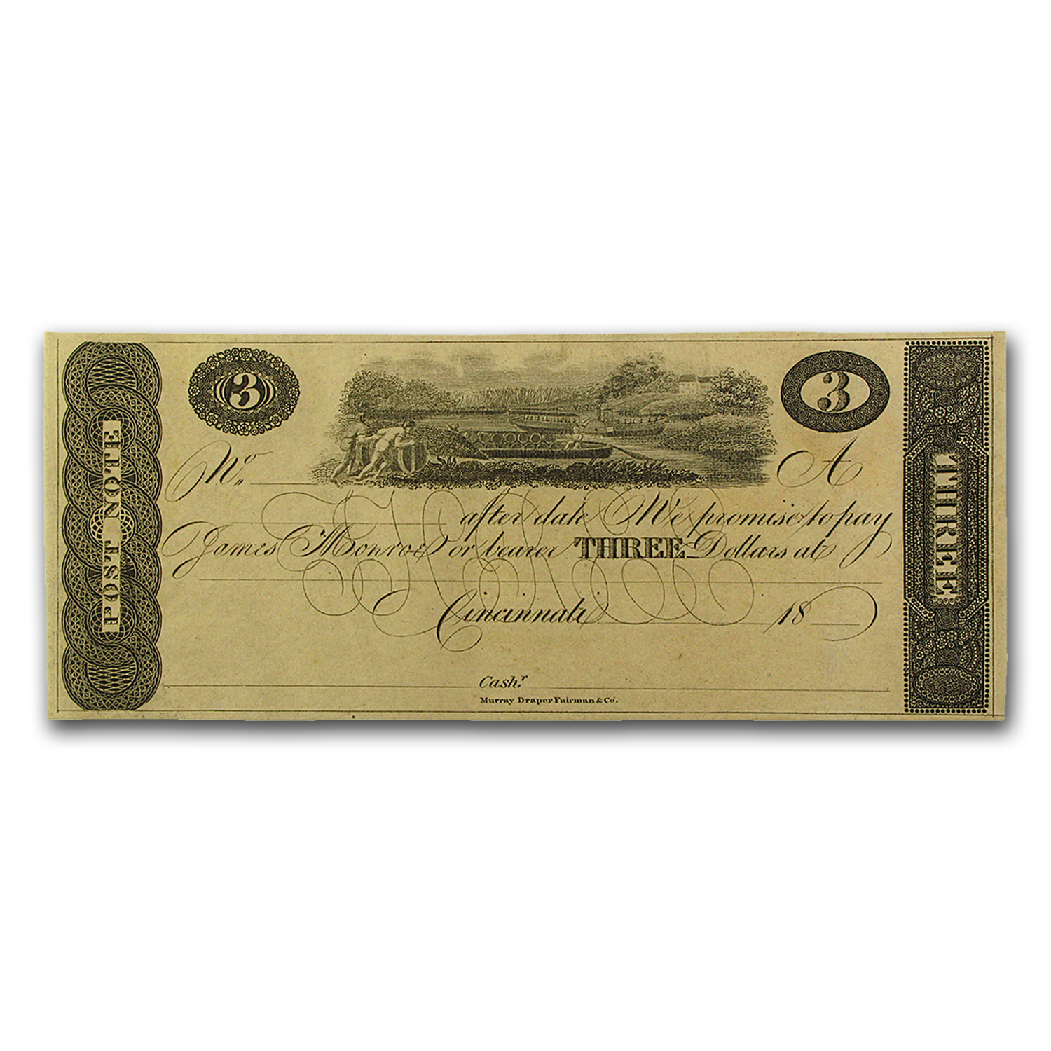 18__ Post Note from Cincinnati, OH $3.00 AU