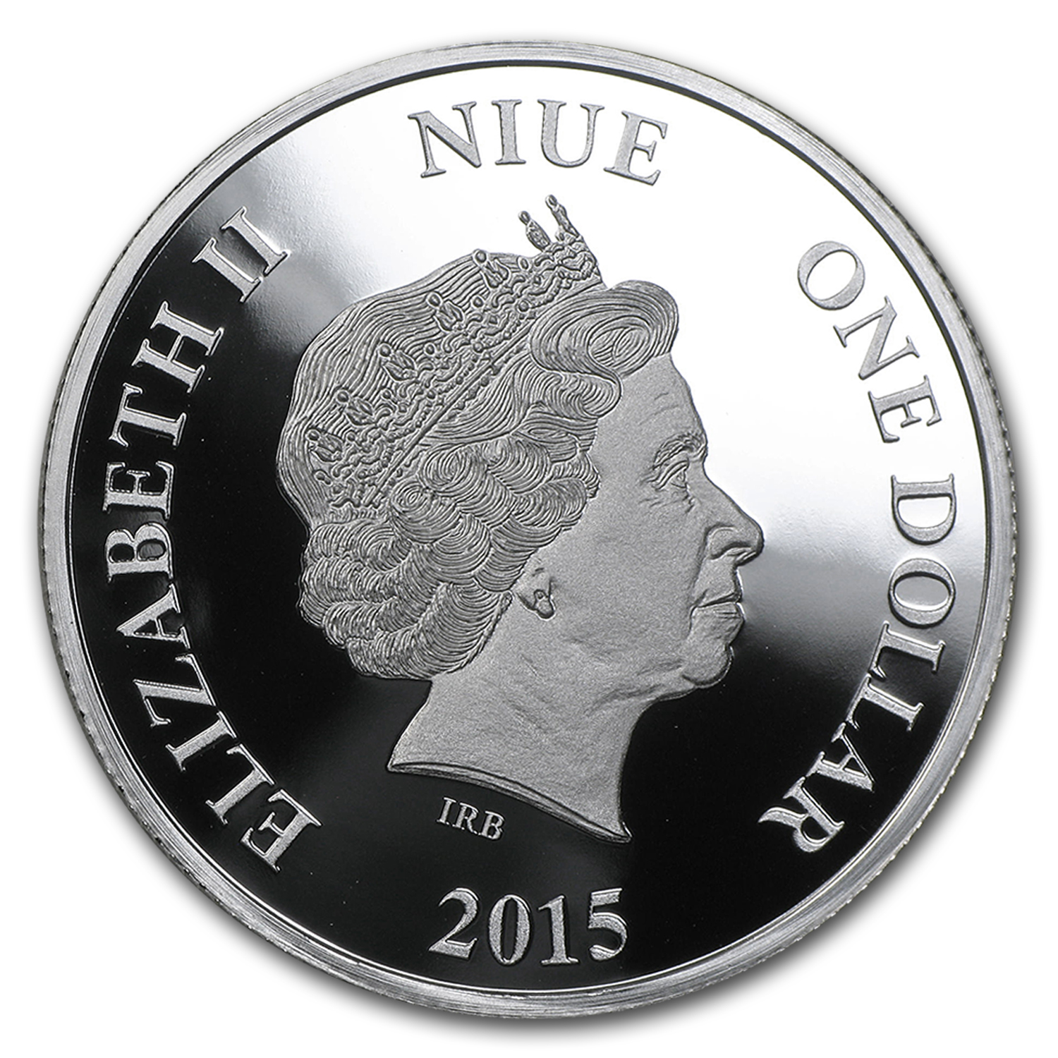 2015 Niue 1 oz Silver $1 Mirror Mirror on the Wall Proof