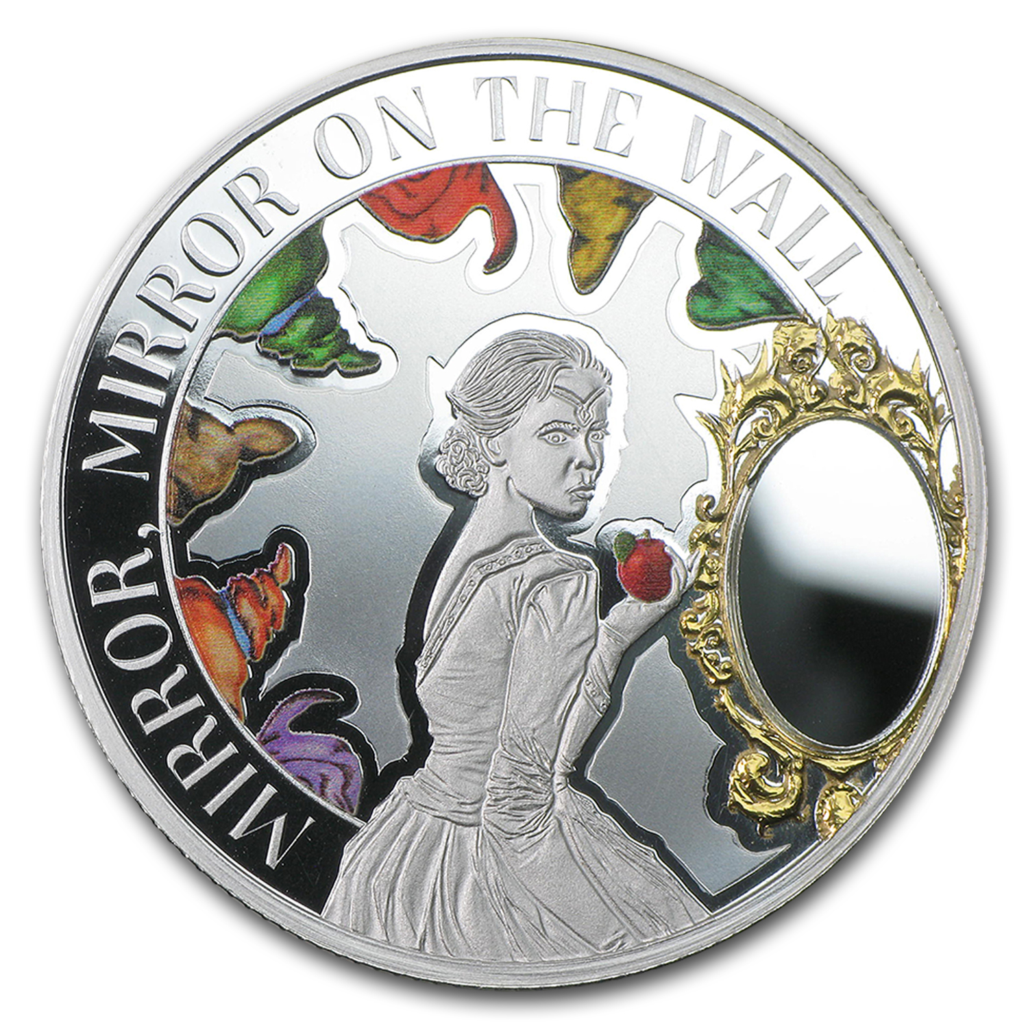 2015 Niue 1 oz Silver $1 Mirror Mirror on the Wall