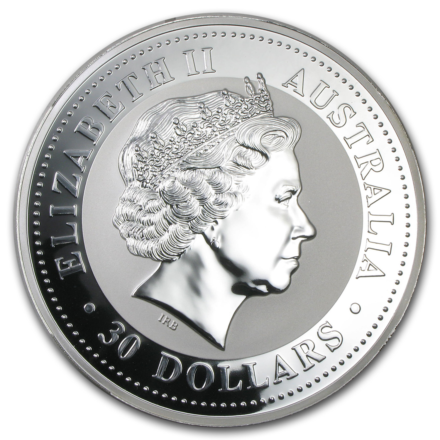 1999 1 Kilo Silver Australian Year of the Rabbit BU