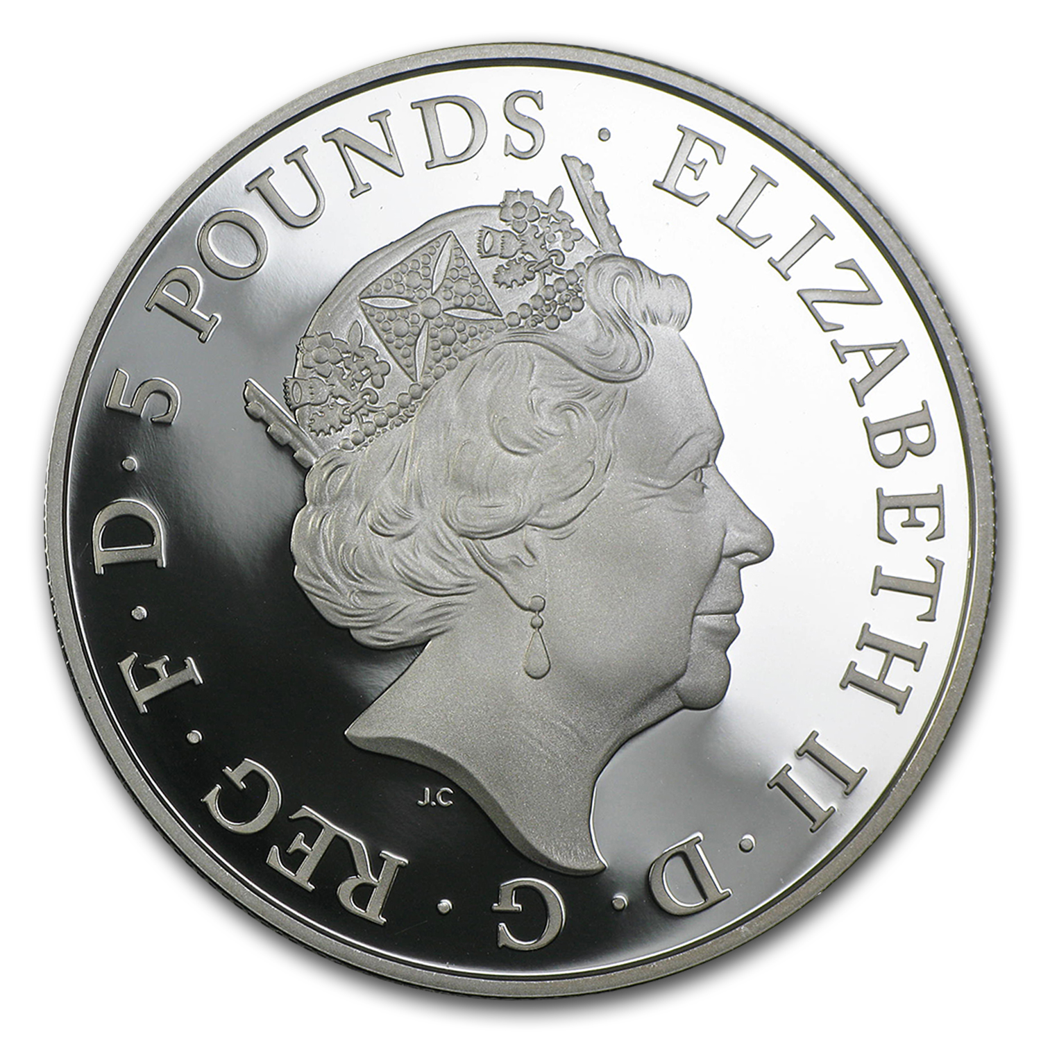 2015 Great Britain £5 Silver Royal Birth Proof