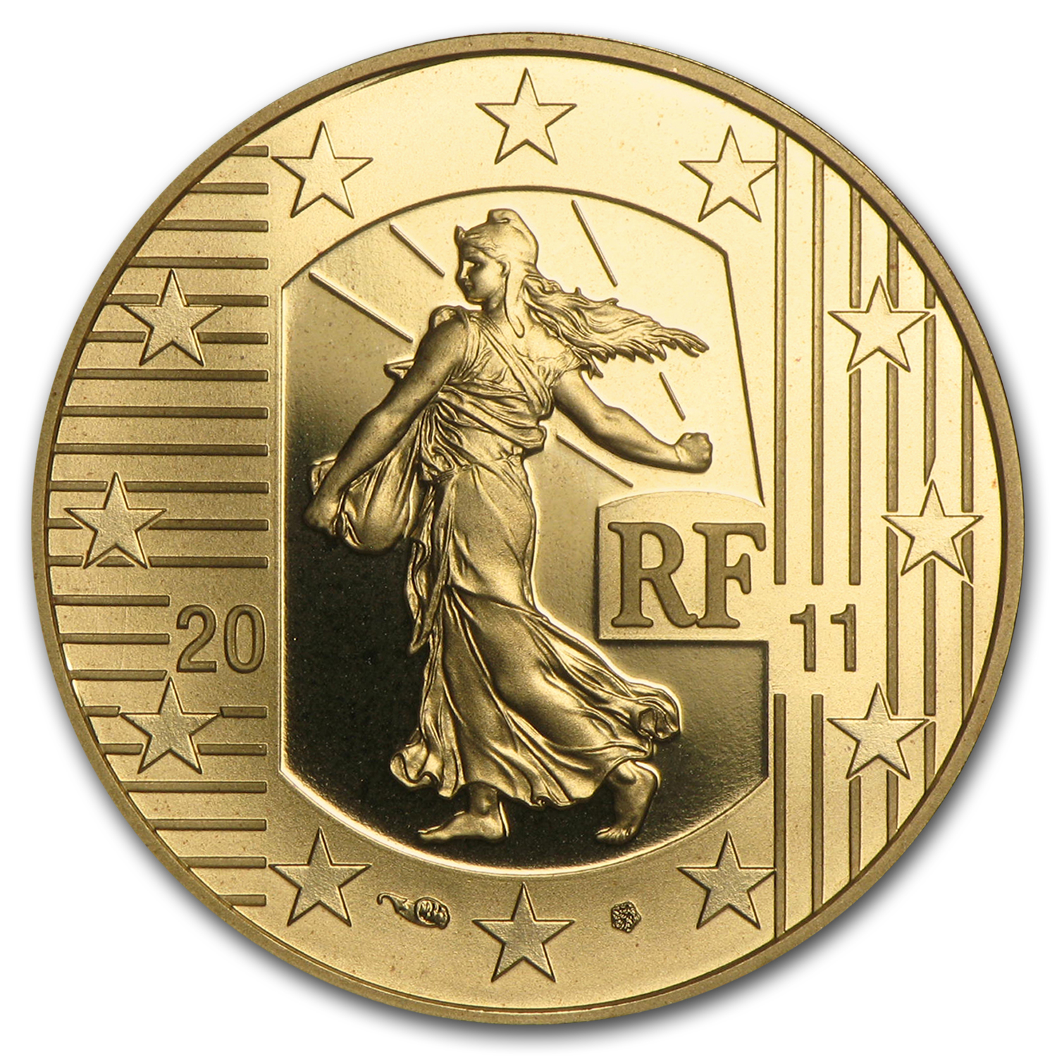 2011 1/4 oz Proof Gold €50 The Sower
