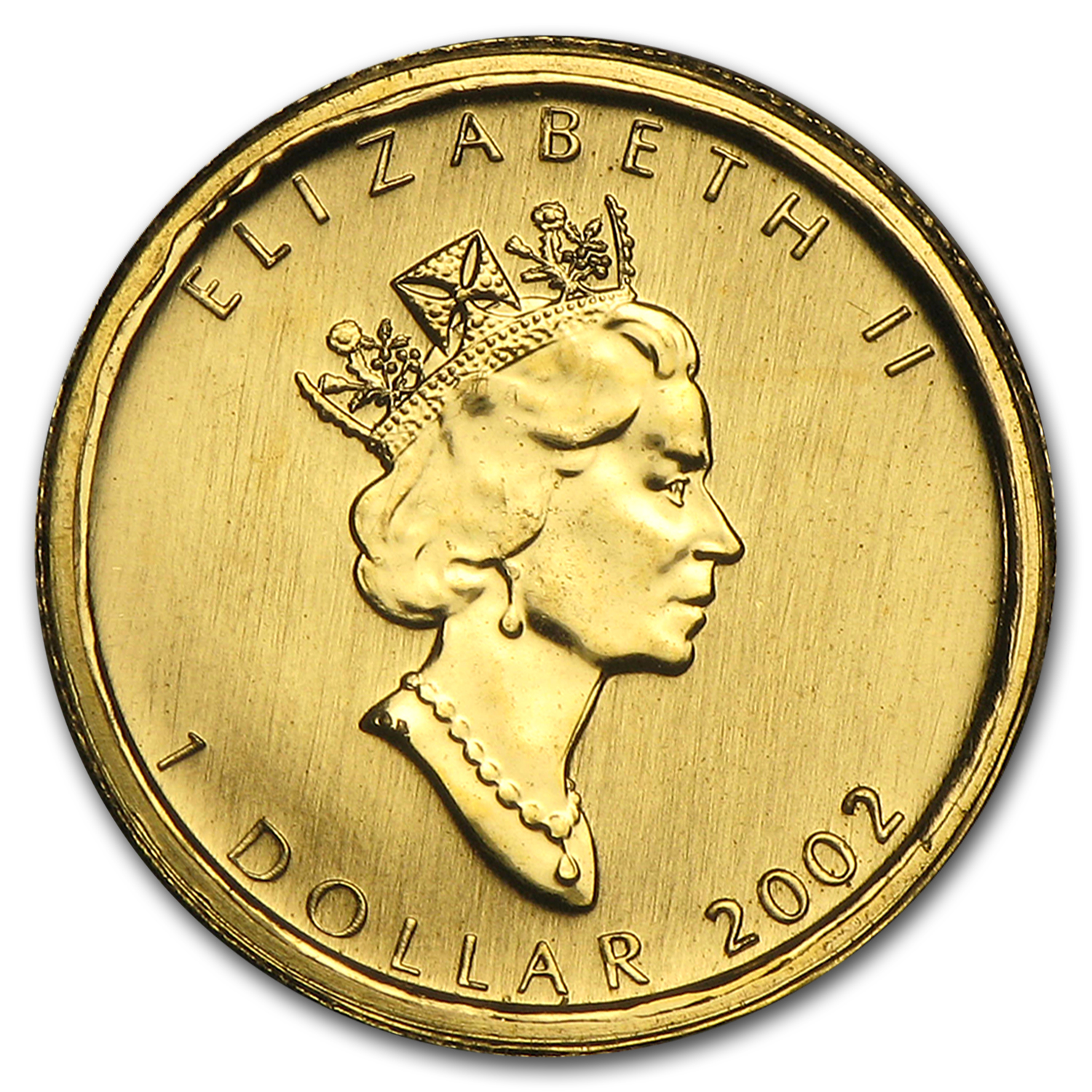2002 Canada 1/20 oz Gold Maple Leaf BU