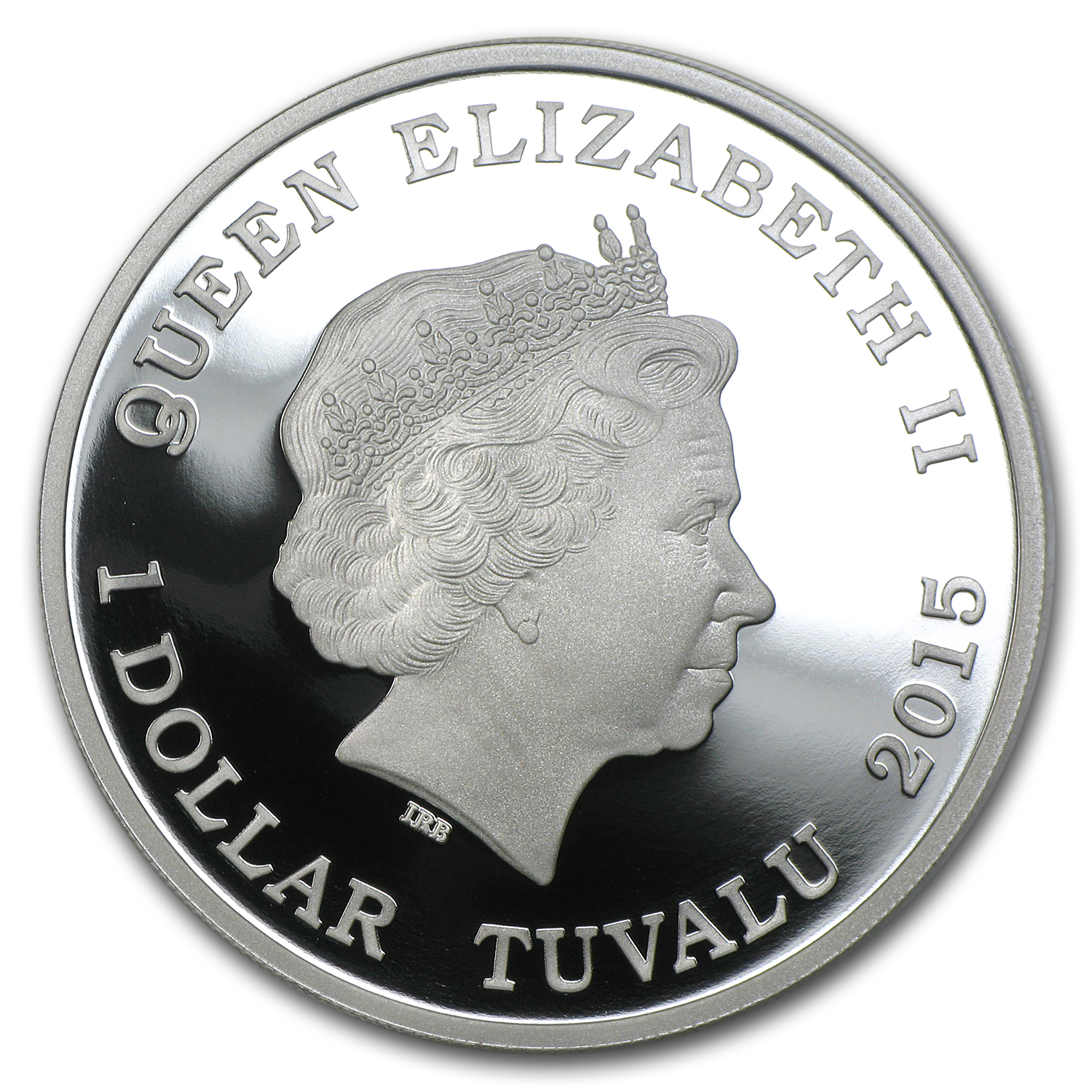 2015 Tuvalu 1 oz Silver Bull Ant Proof