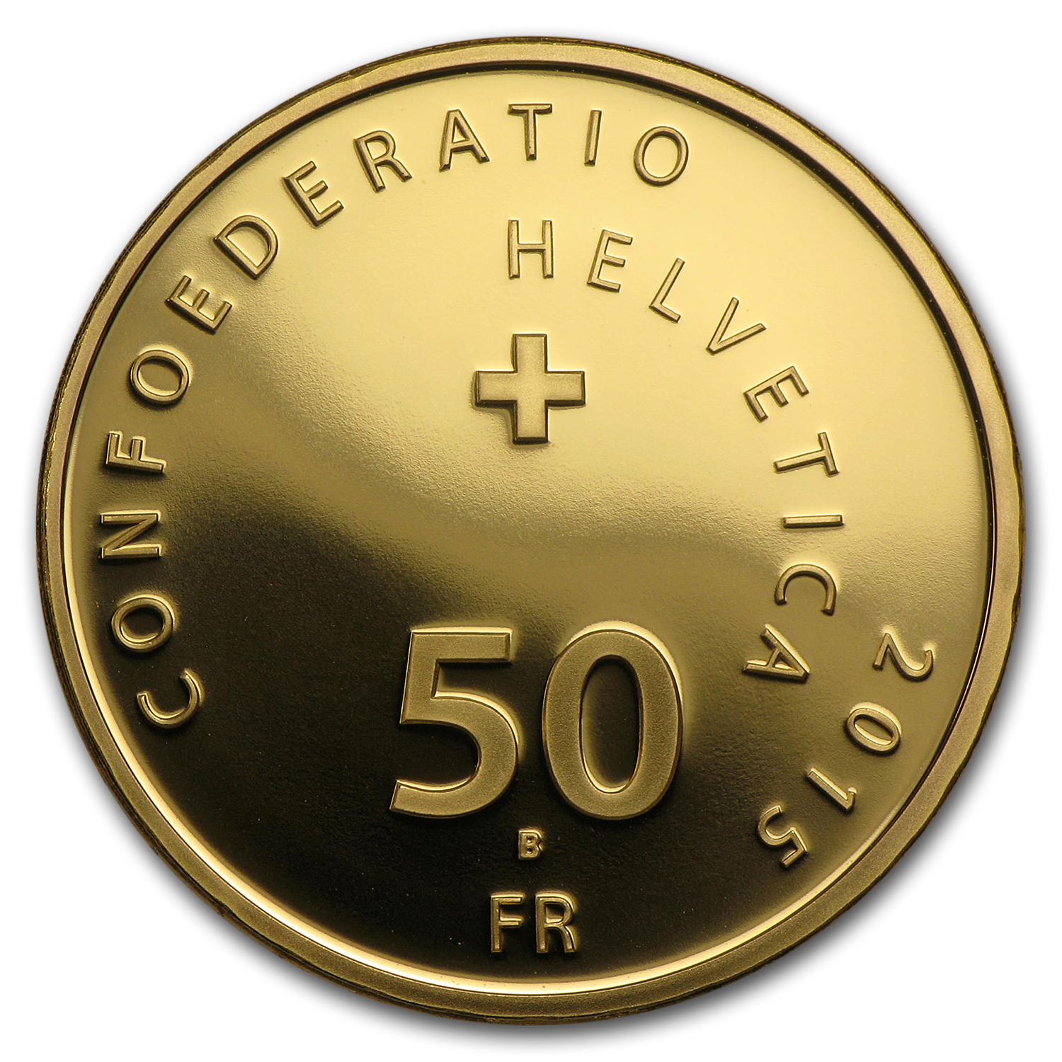 2015 Switzerland Proof Gold 50 CHF 200 years of Aventicum
