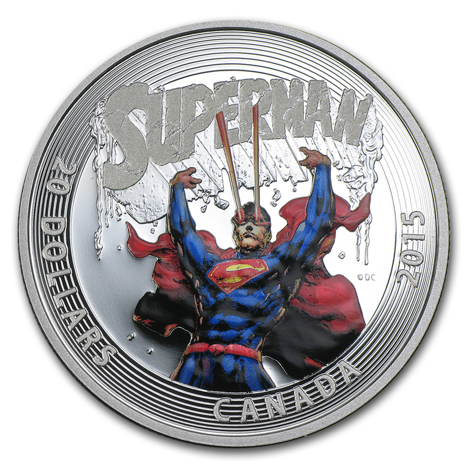 2015 Canada Silver Iconic Superman™ Comic Book Covers (#28)
