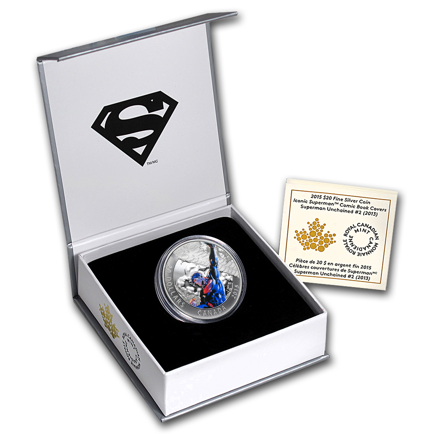 2015 Canada Silver Iconic Superman™ - Superman Unchained