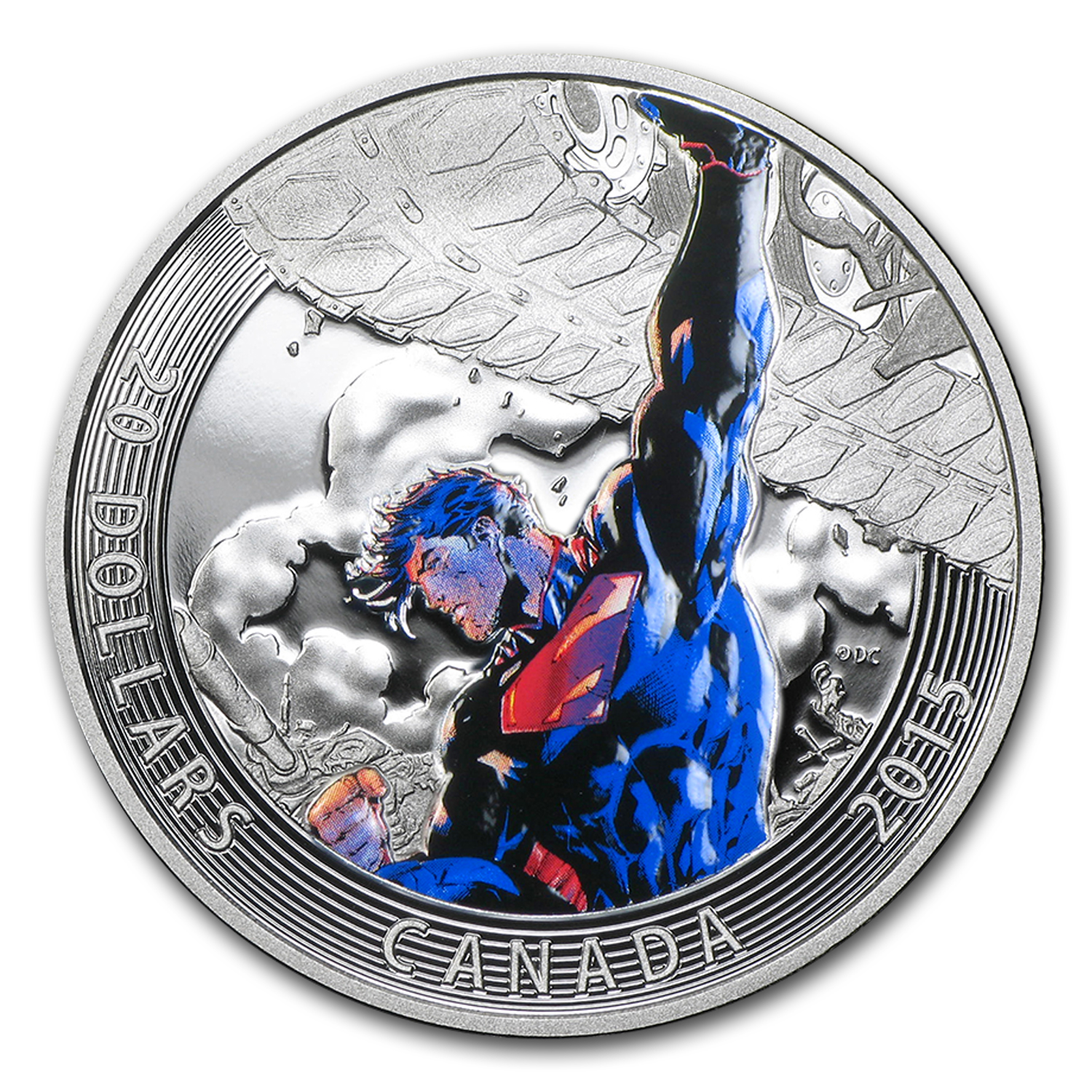 2015 Canada Silver Iconic Superman Superman Unchained