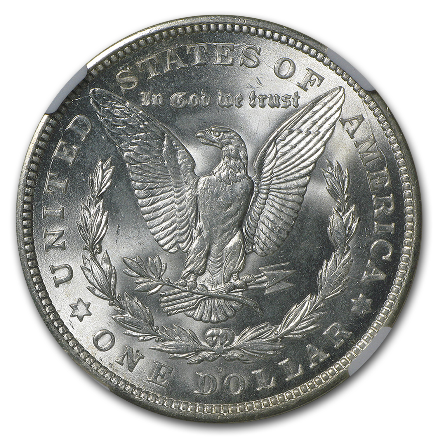 1921-D Morgan Dollar MS-64+ NGC