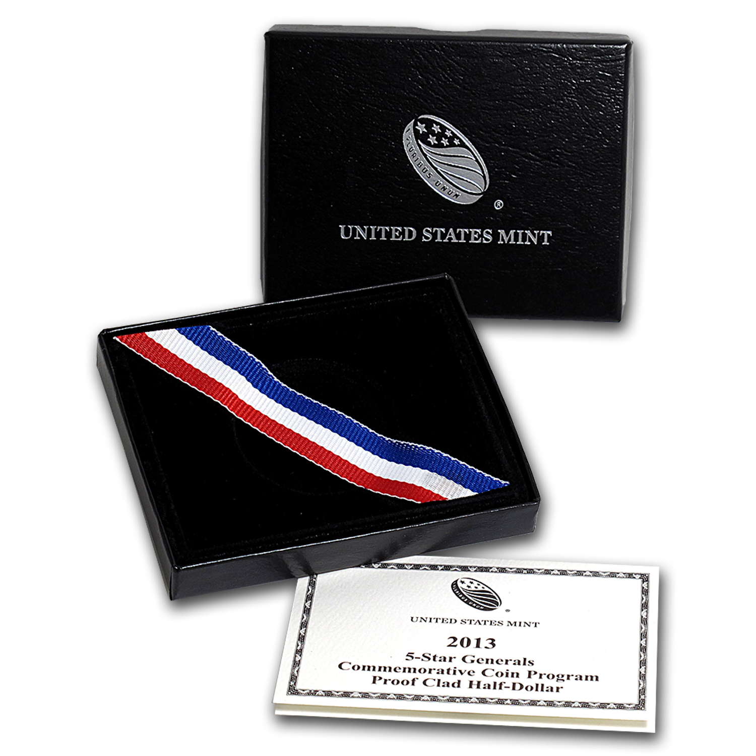 OGP Box & COA - 2013 U.S. Mint 5 Star General Clad Proof Coin