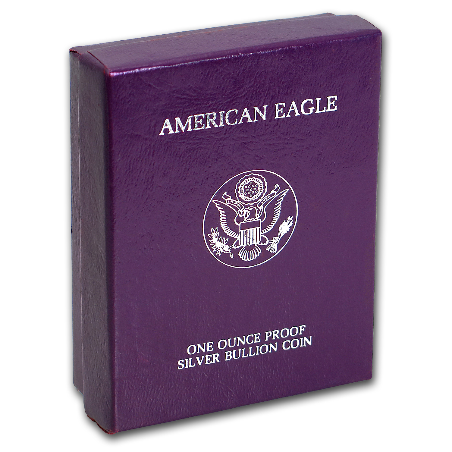 U.S. Mint Box - 1 oz Silver American Eagle PF (Purple/1986-1993)