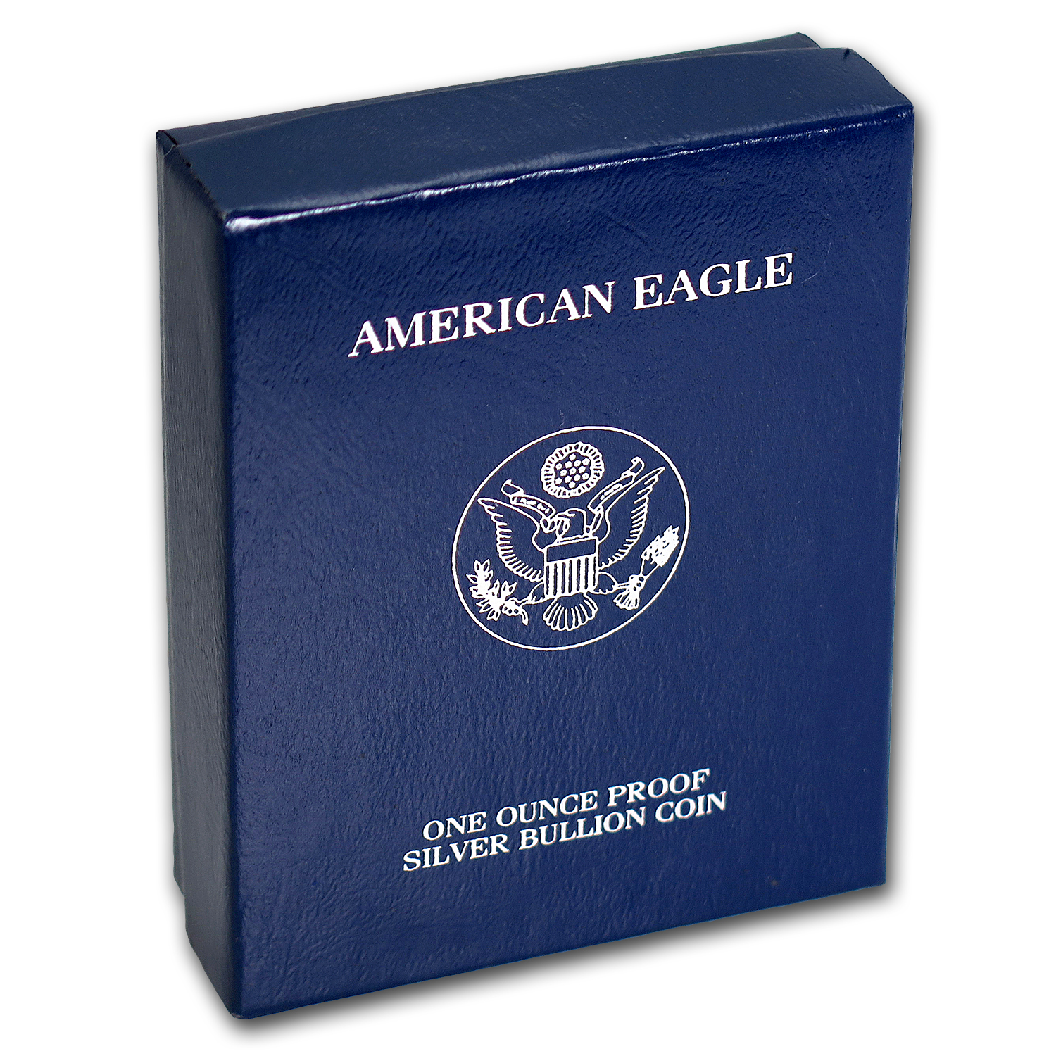 U.S. Mint Box - 1 oz Silver American Eagle PF (Black/1994-2000)