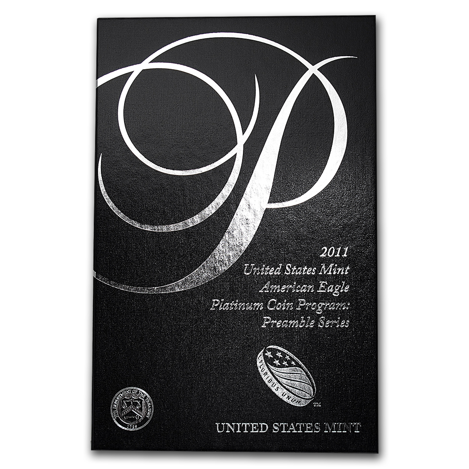 U.S. Mint Box - 2011 1 oz Platinum Eagle Proof Preamble Coin