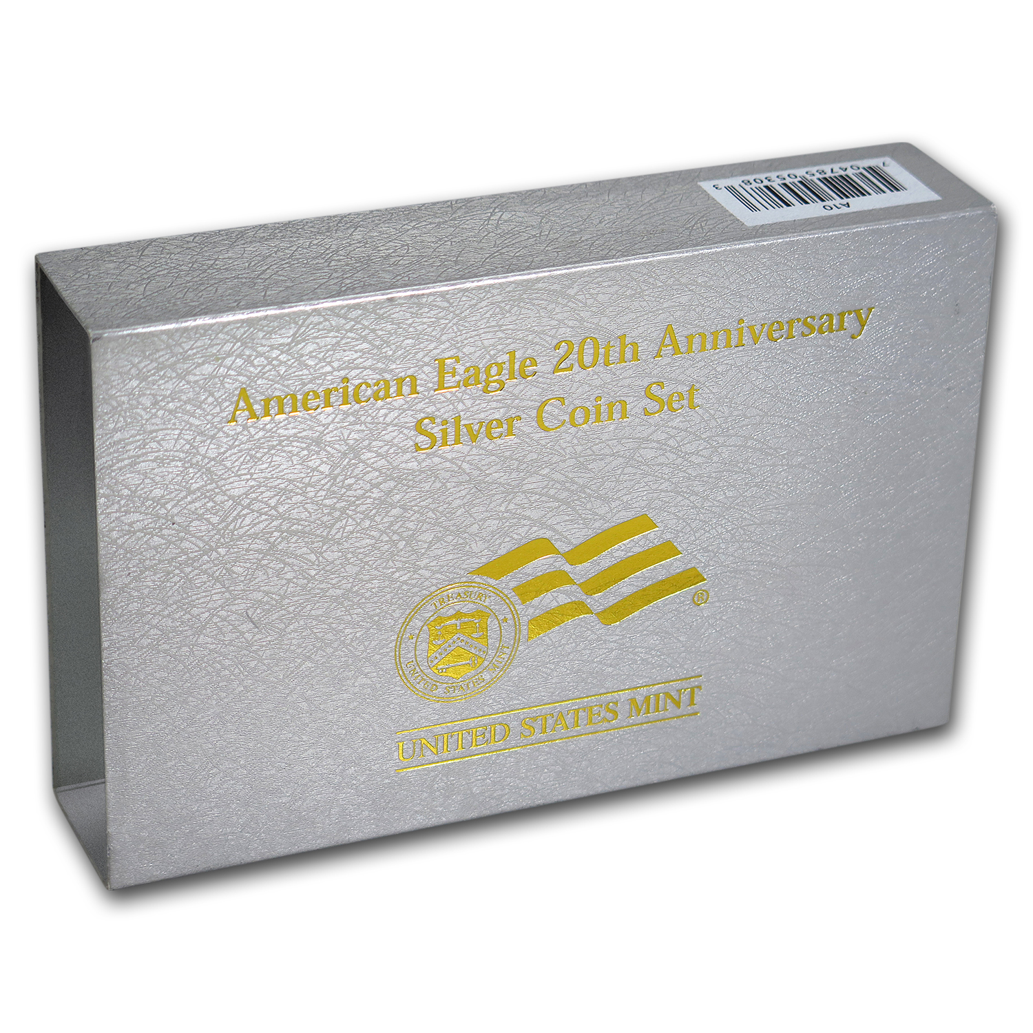 OGP Box & COA - 2006 20th Anniversary 3-Coin Silver Eagle Set