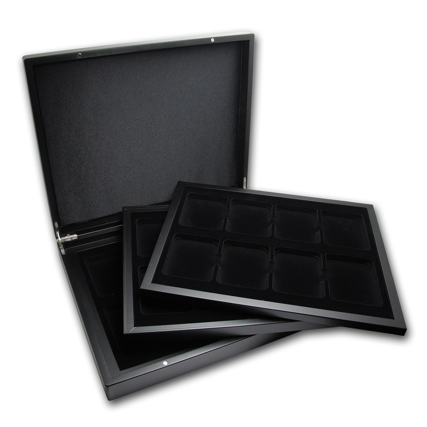 Volterra Trio Presentation Case - 24 Slabs (Matte Black)