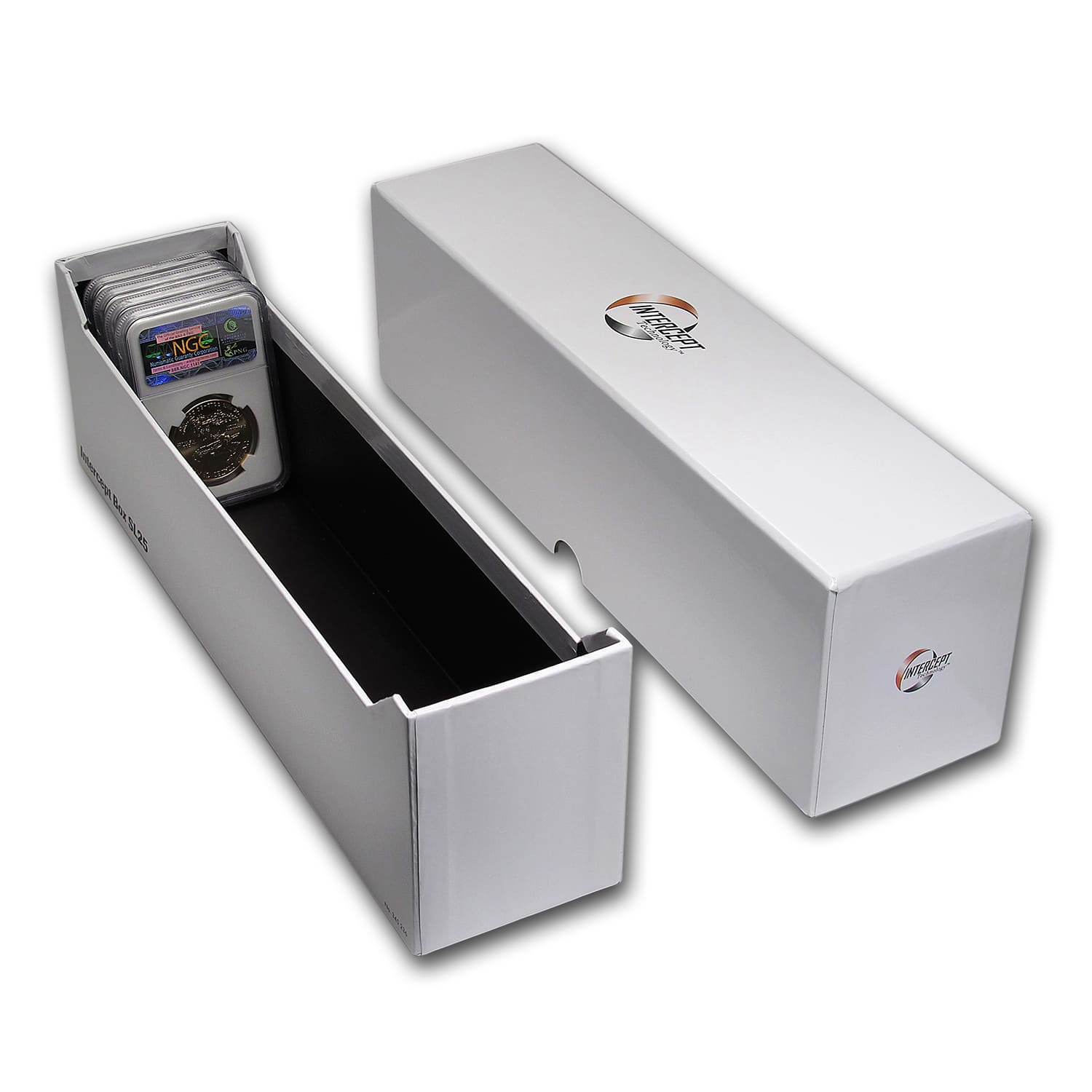 Intercept Technology 174 Certified Coin Storage Box 25
