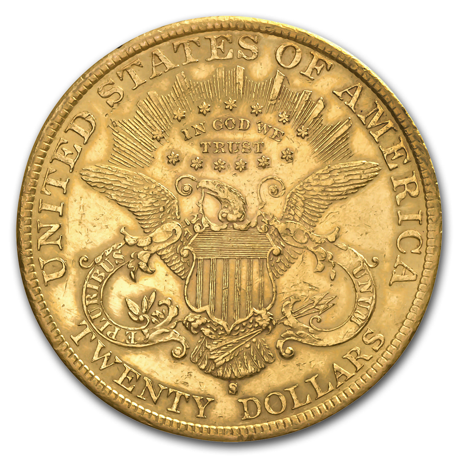 20 Liberty Gold Double Eagle Cleaned 20 Double