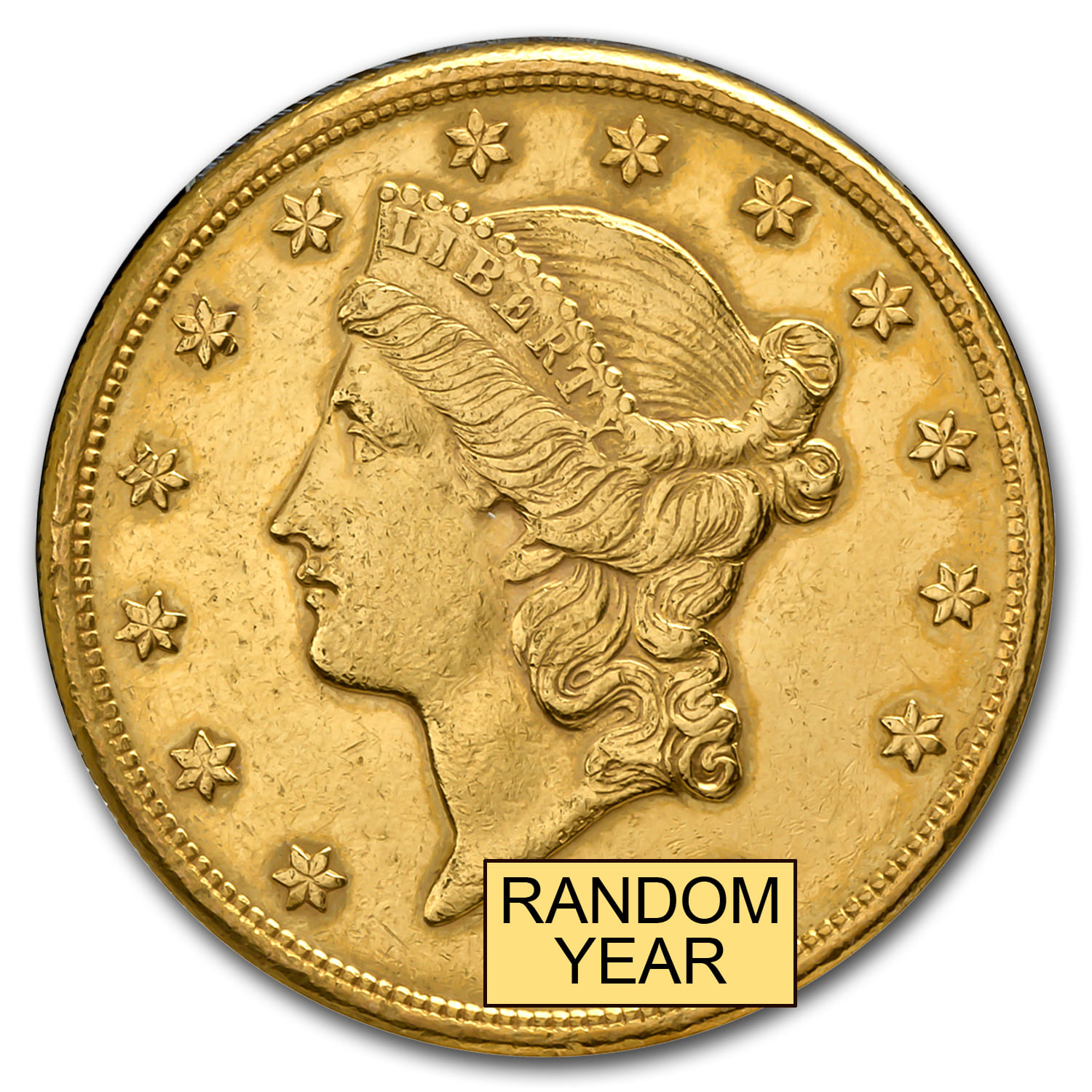 $20 Liberty Gold Double Eagle (Cleaned)