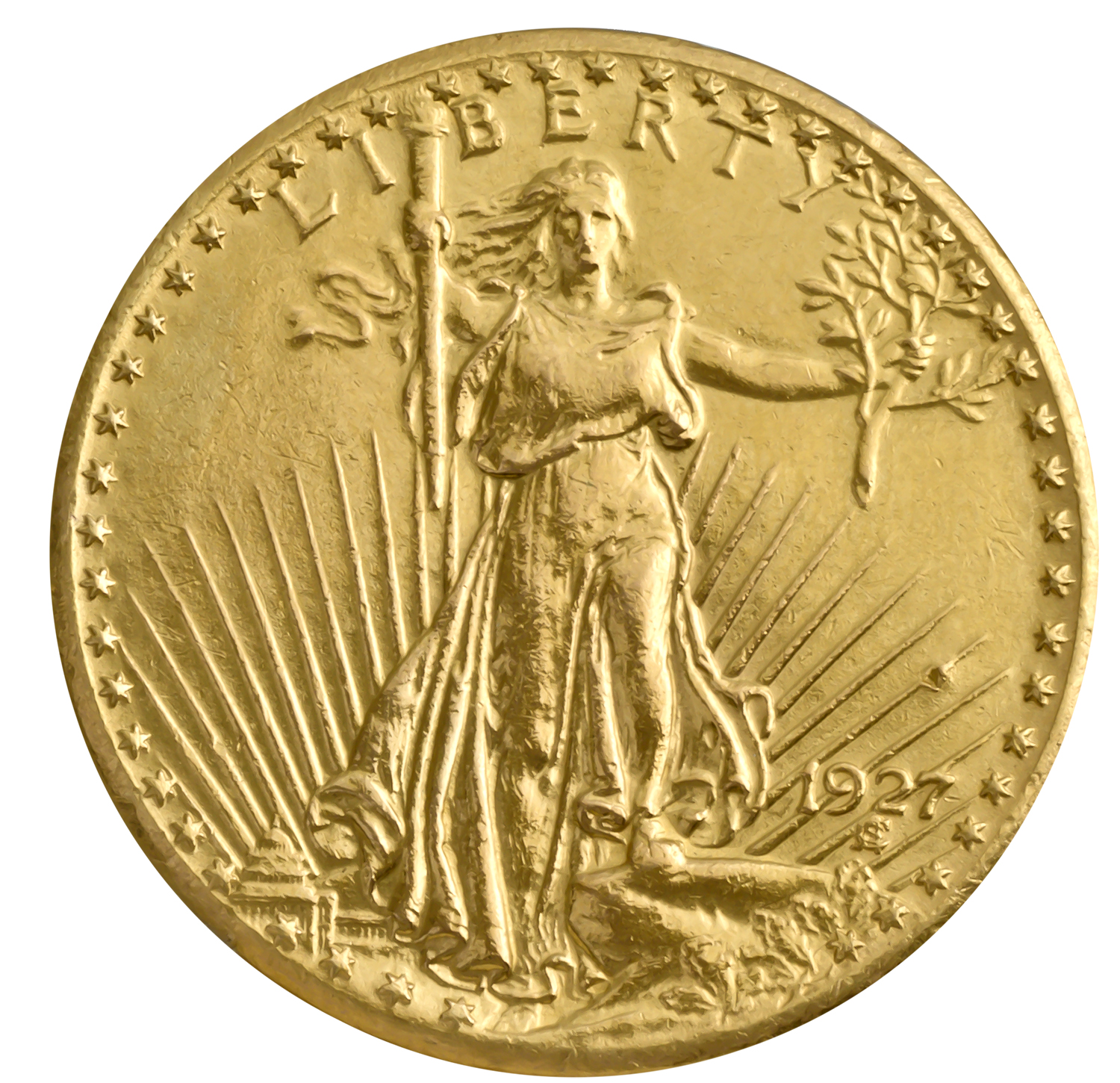 $20 St. Gaudens Gold Double Eagle (Cleaned)