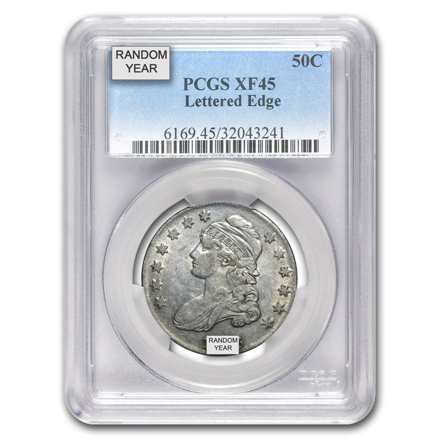 1811-1836 Capped Bust Half Dollar XF PCGS/NGC